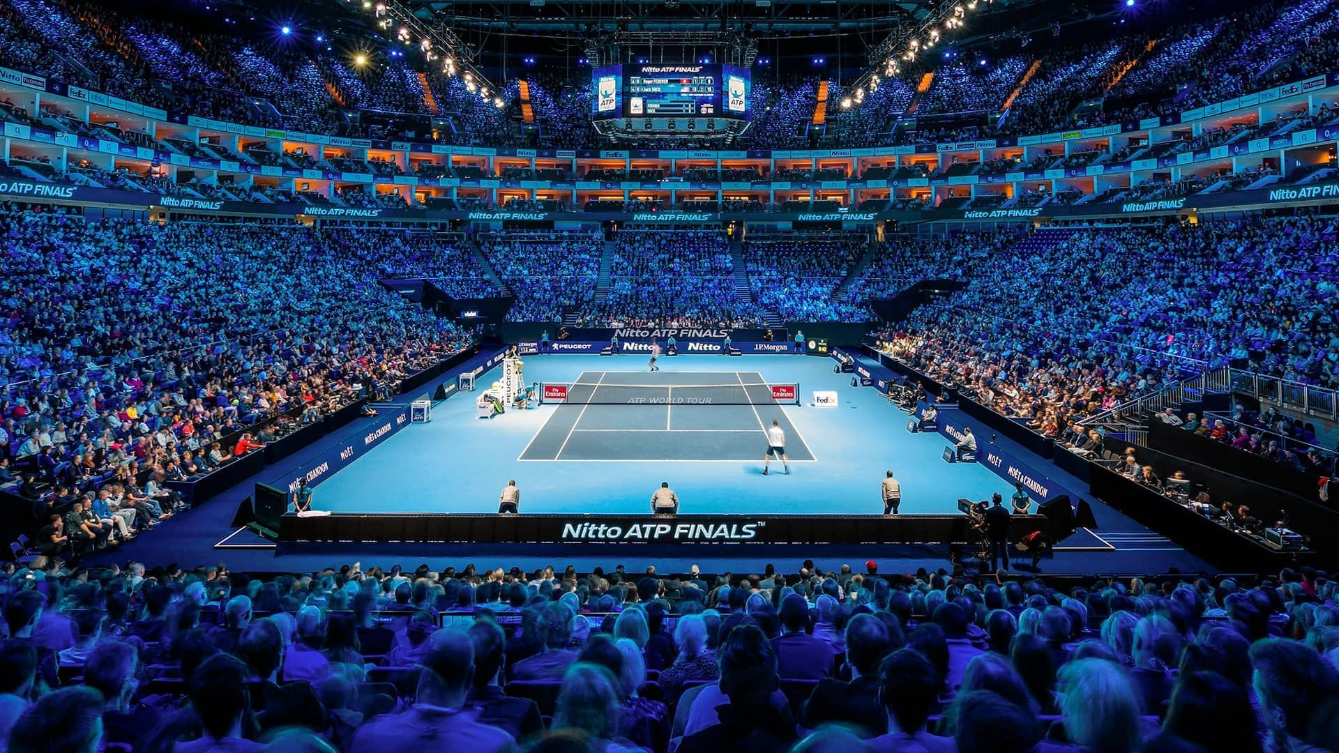 Resultado de imagem para o2 arena tennis crowded