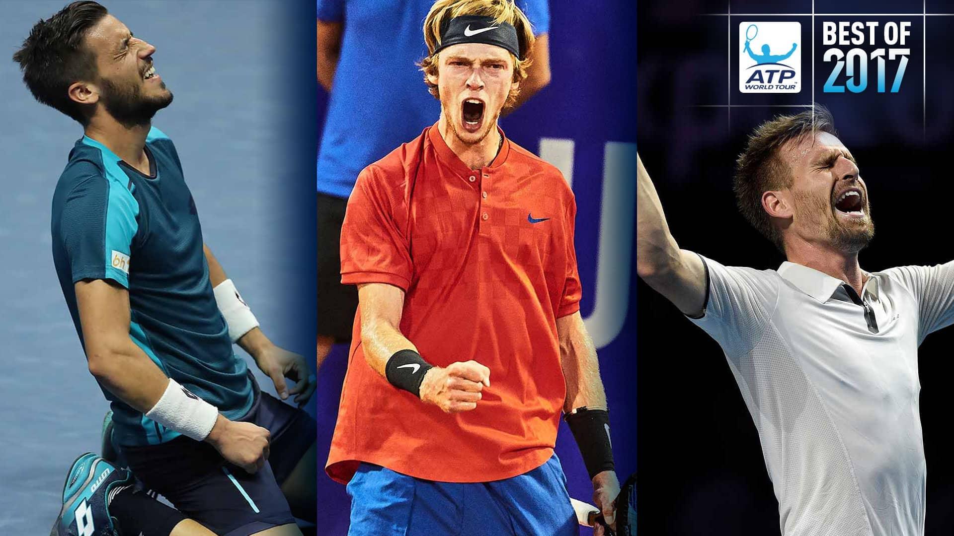 Best of 2017: First-Time Winners: Dzumhur, Rublev, Gojowczyk | ATP Tour | Tennis