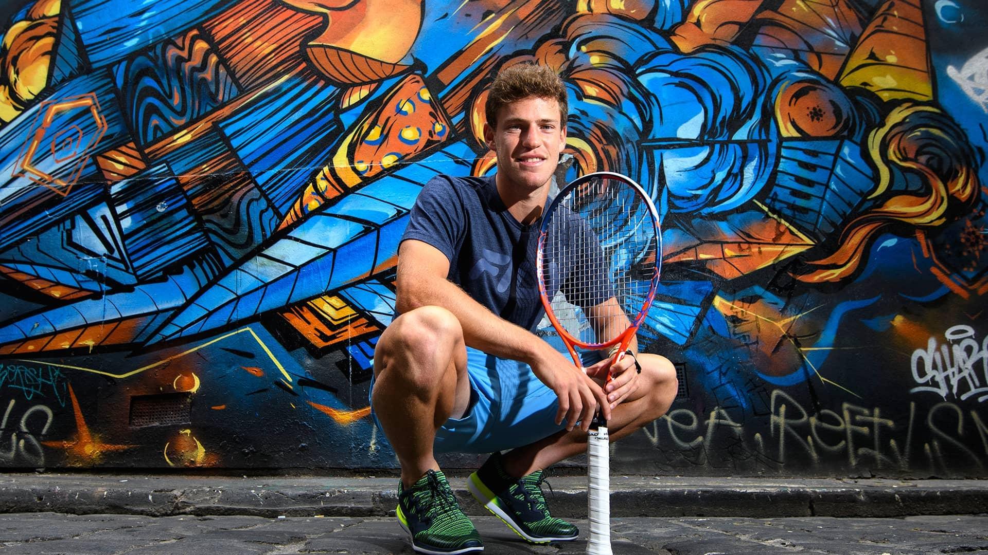 At 5 7 Diego Schwartzman Stands Tall On Atp World Tour Atp Tour Tennis