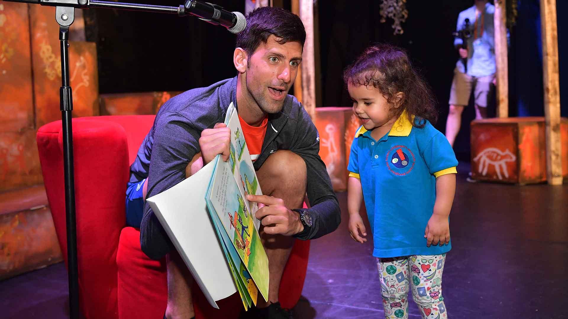 Djokovic Children Are Our Everything Atp Tour Tennis