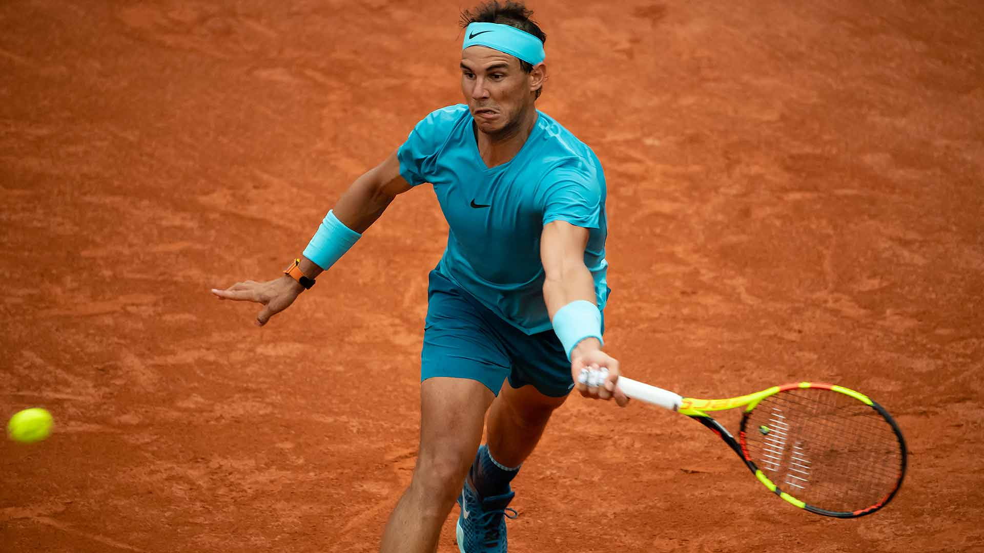Spaniard Rafael Nadal Forced To Fight At Roland Garros Atp Tour Tennis
