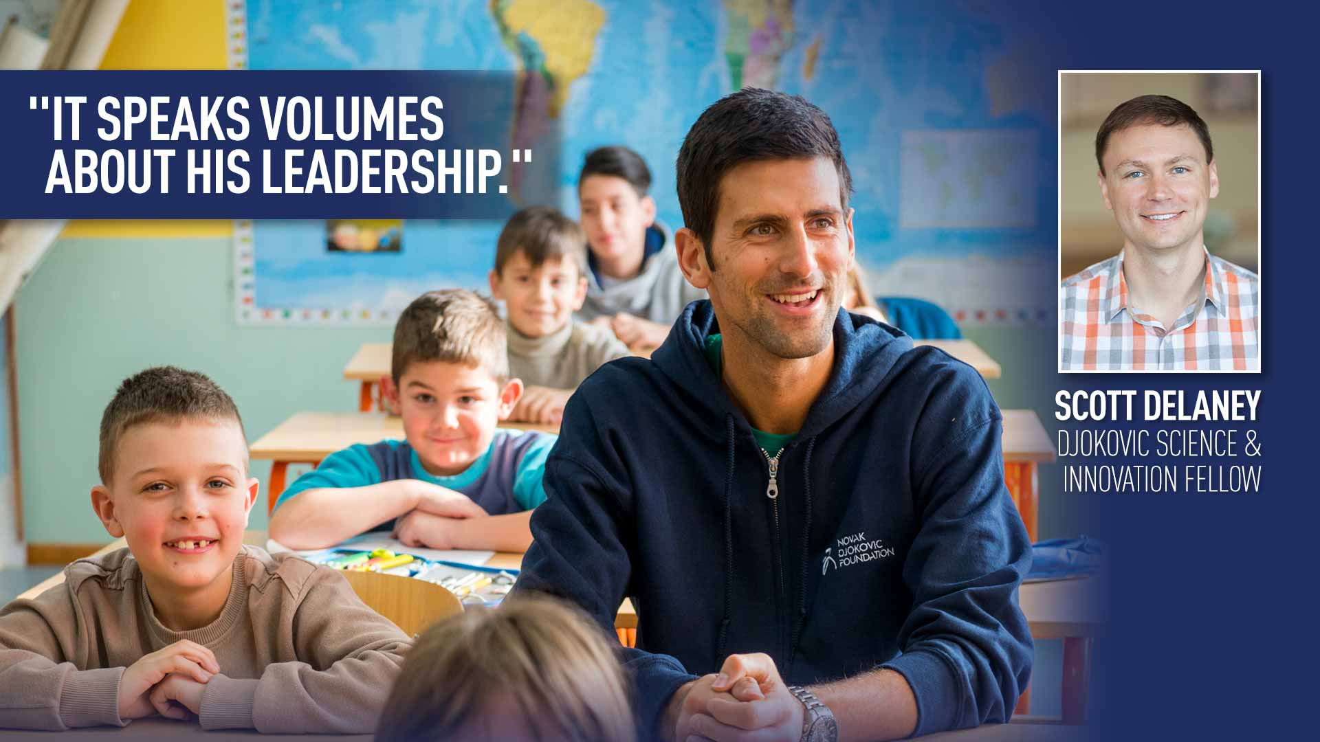 Novak Partners With Harvard To Defeat Toxic Effects Of Child Poverty Atp Tour Tennis