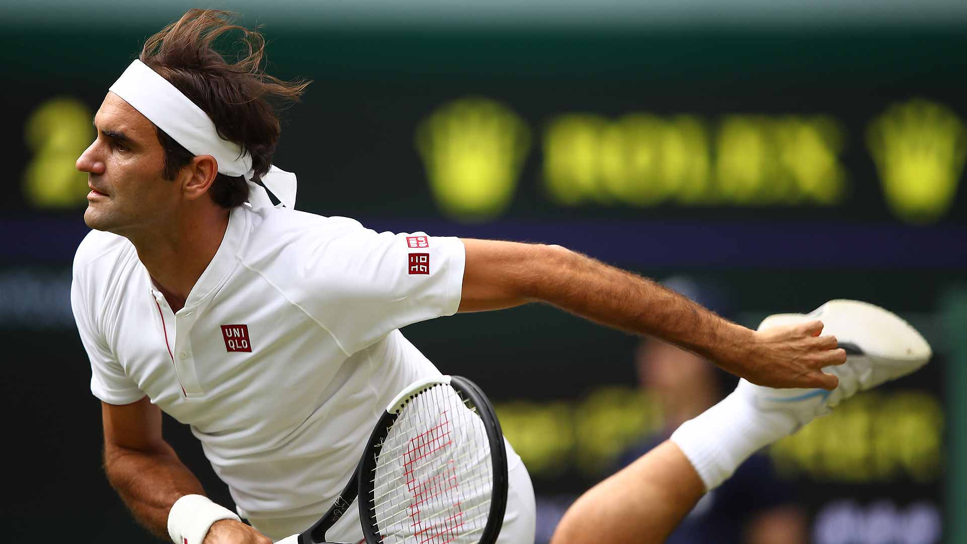 41e197cd7e2 Roger Federer Nearly Perfect As He Rolls Past Lukas Lacko