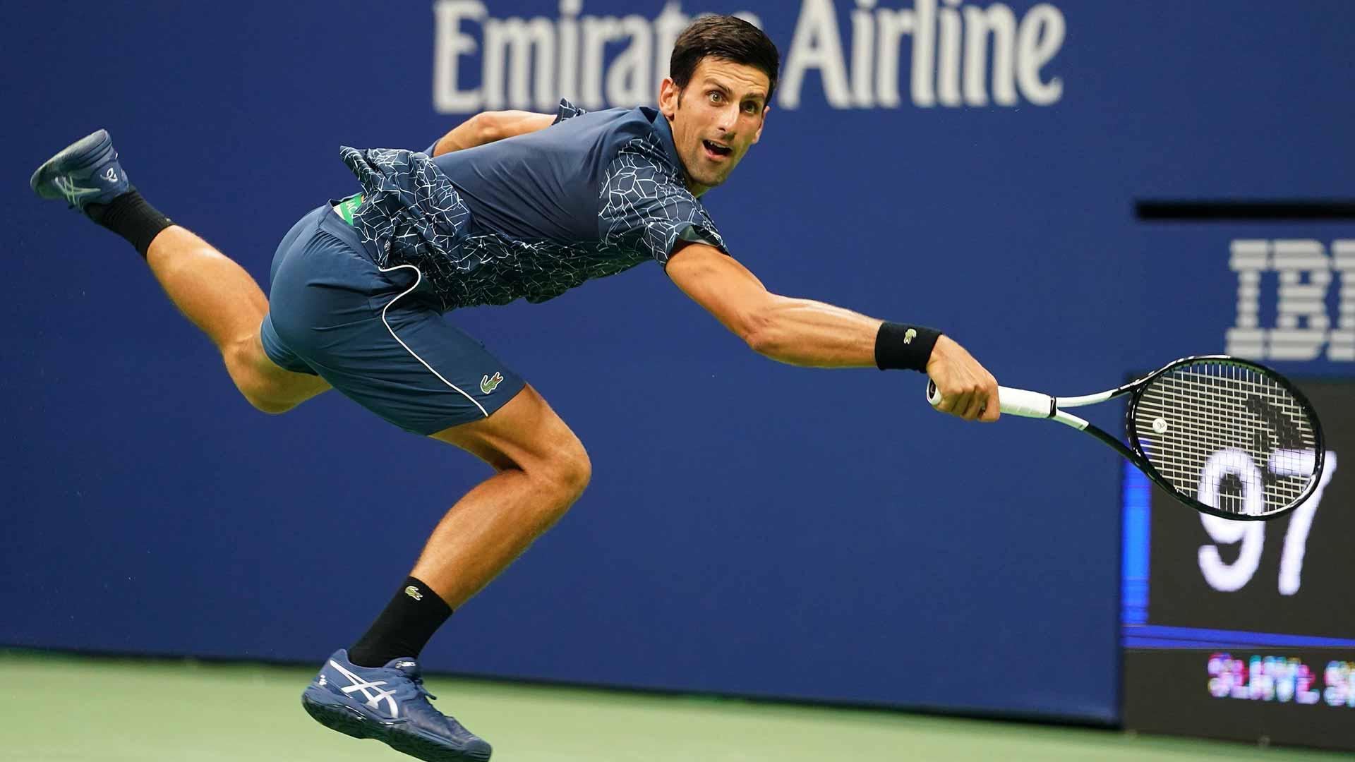 Djokovic Maintains Federer Collision Course At Us Open Atp Tour Tennis