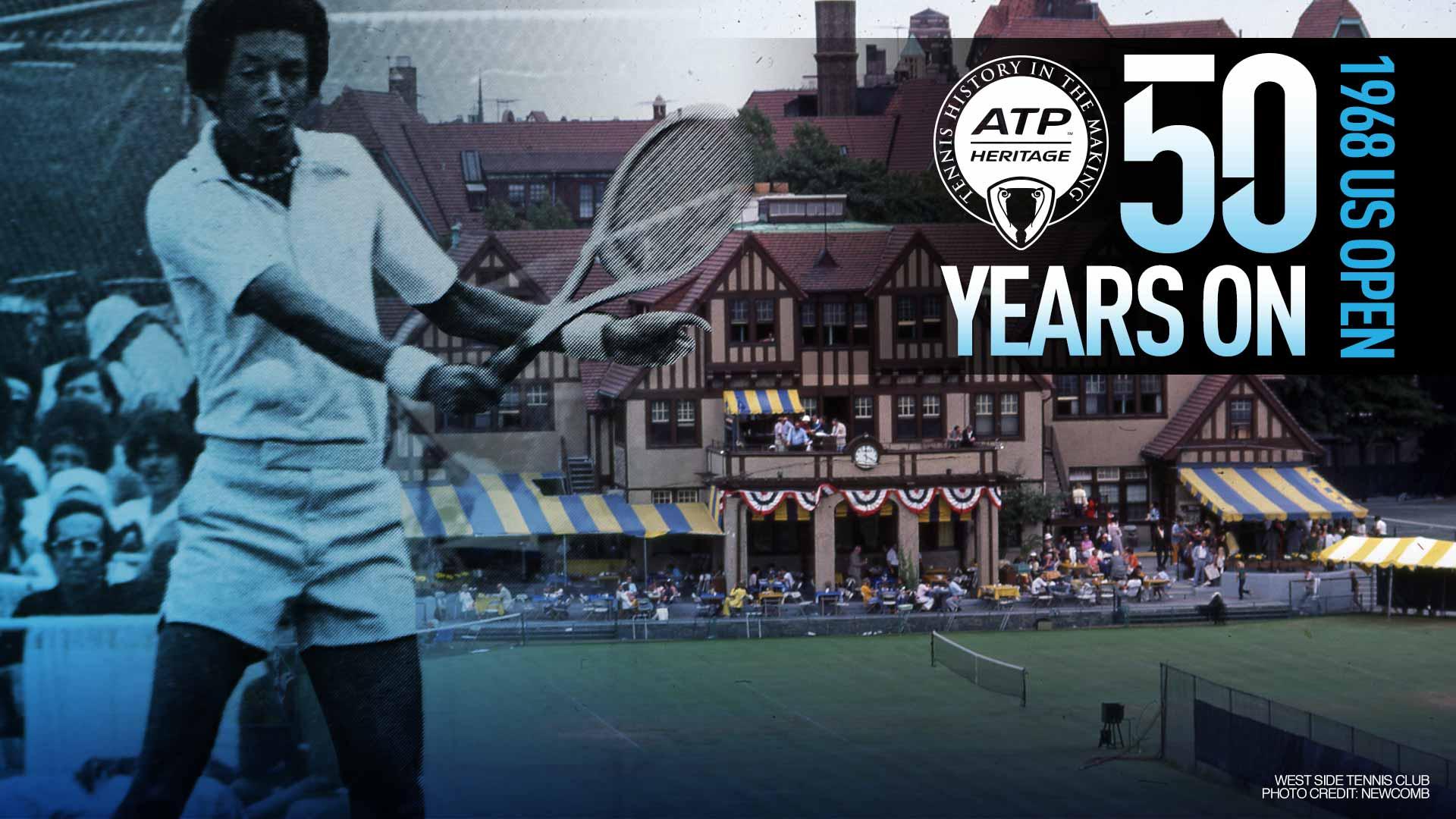 Arthur Ashe's Historic 1968 US Open Win | ATP Tour | Tennis