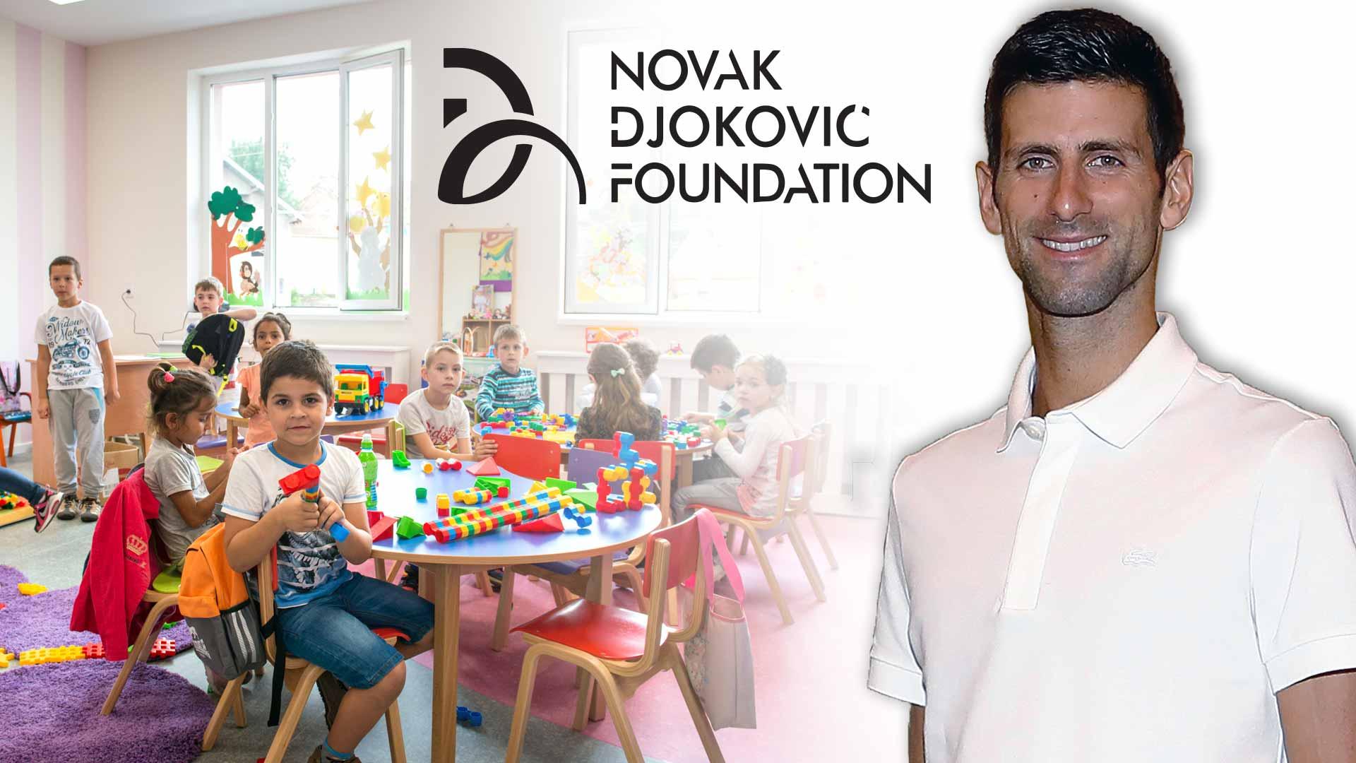 Novak Djokovic Foundation Helping Serbian Kindergarteners Prosper Atp Tour Tennis