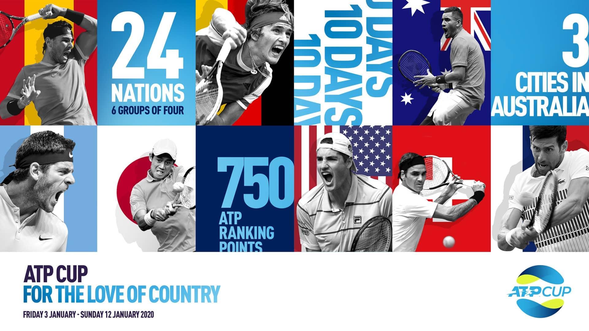 2020 Atp Calendar ATP Unveils 'ATP Cup' Team Event For 2020 Season | ATP Tour | Tennis