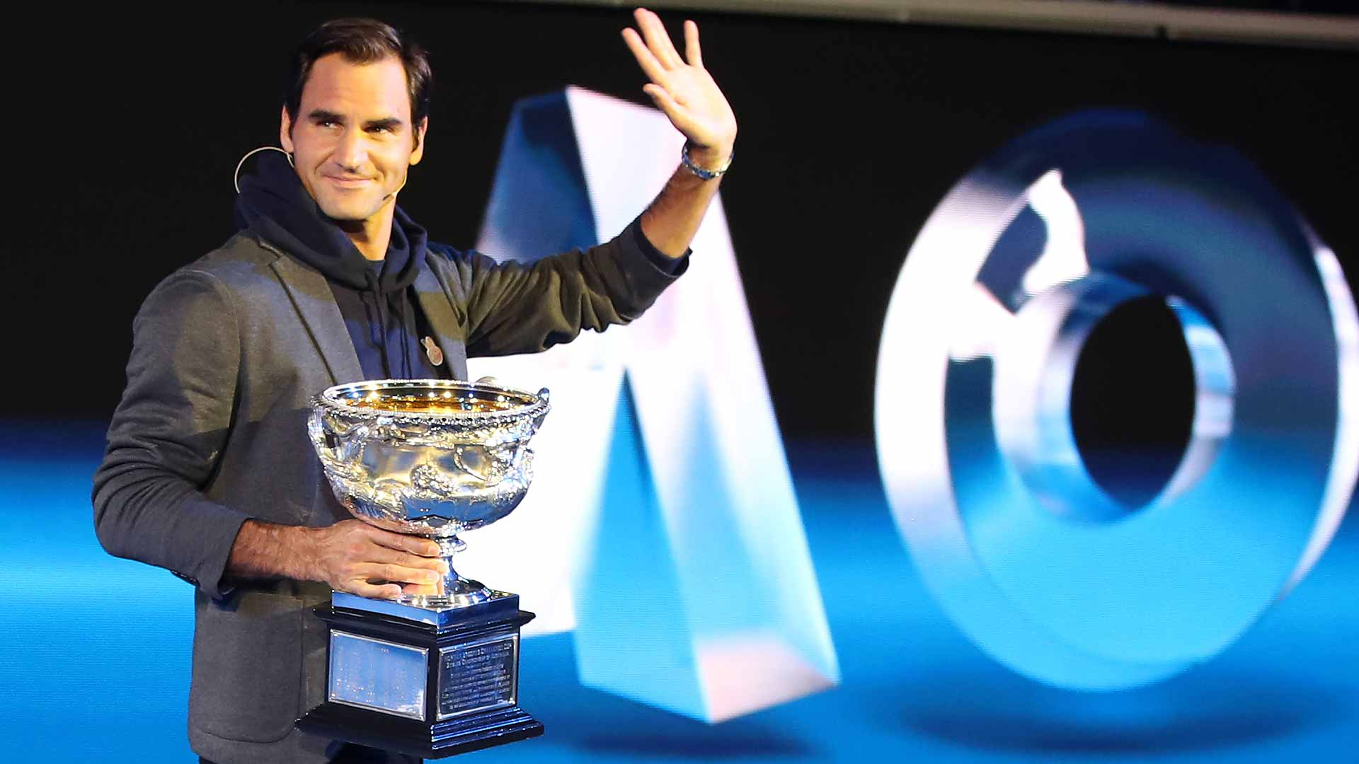 Federer Nadal In Same Half Of Australian Open Draw Atp Tour Tennis