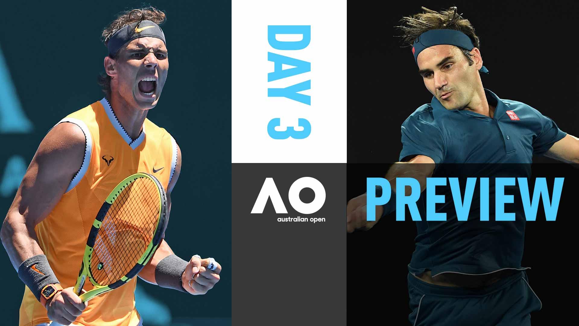 Day 3 Preview: Nadal & Federer Continue Title Pursuit | ATP Tour | Tennis