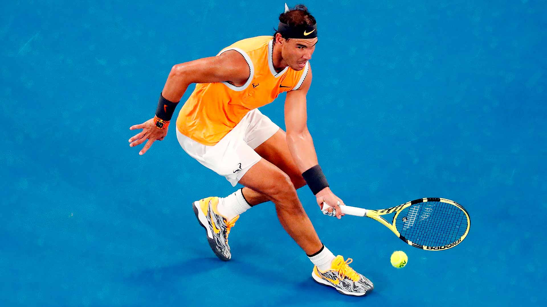 Nadal Ruthless In 250th Major Match Win Atp Tour Tennis