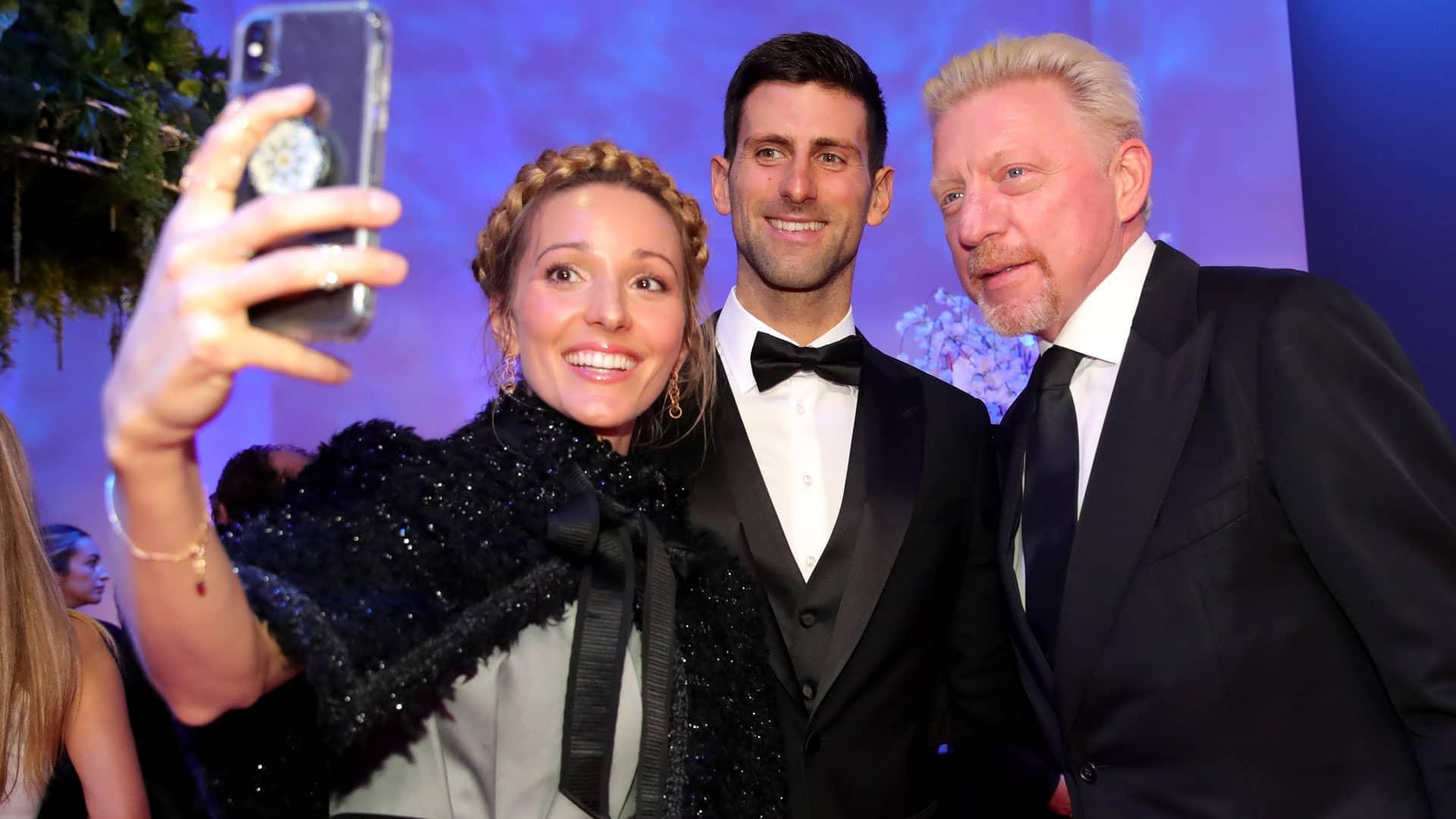Djokovic wins Laureus World Sportsman of the Year Award   ATP Tour   Tennis