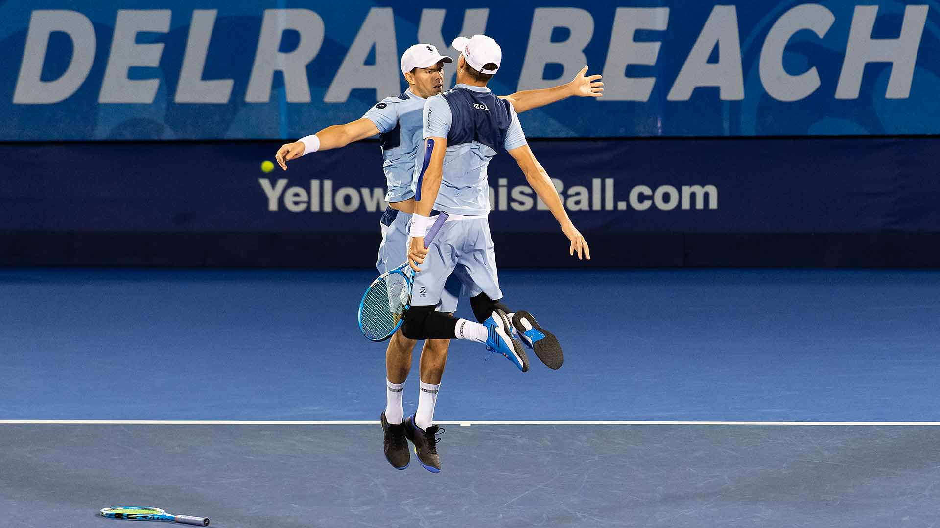 Bryan Brothers Win In Delray Beach   ATP Tour   Tennis