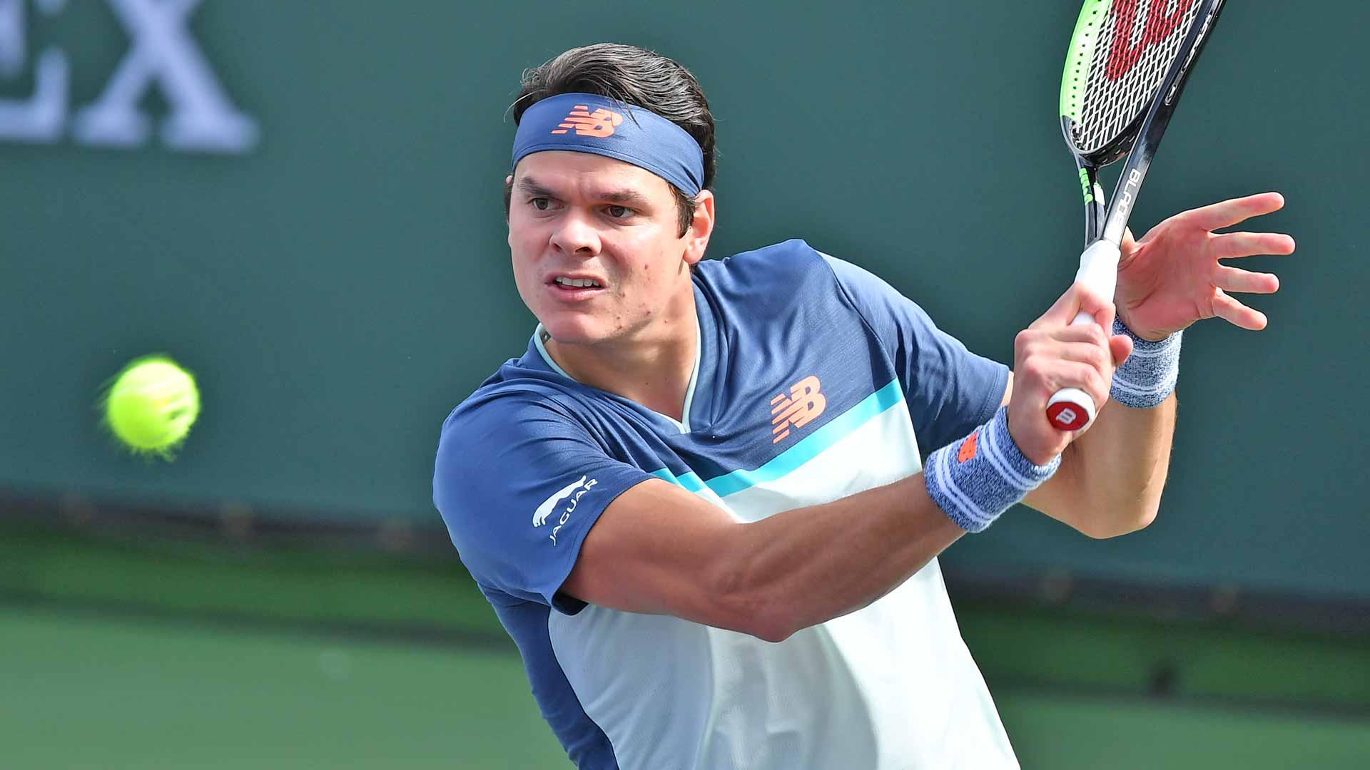 Milos Raonic Rallies, Ends Marcos Giron's Dream Run | ATP Tour | Tennis