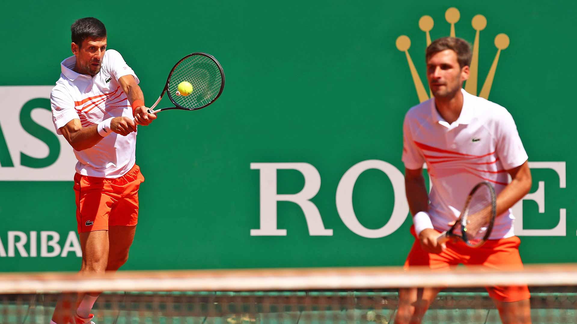 Djokovic Brothers Fall To Cabal Farah In Monte Carlo Atp Tour Tennis