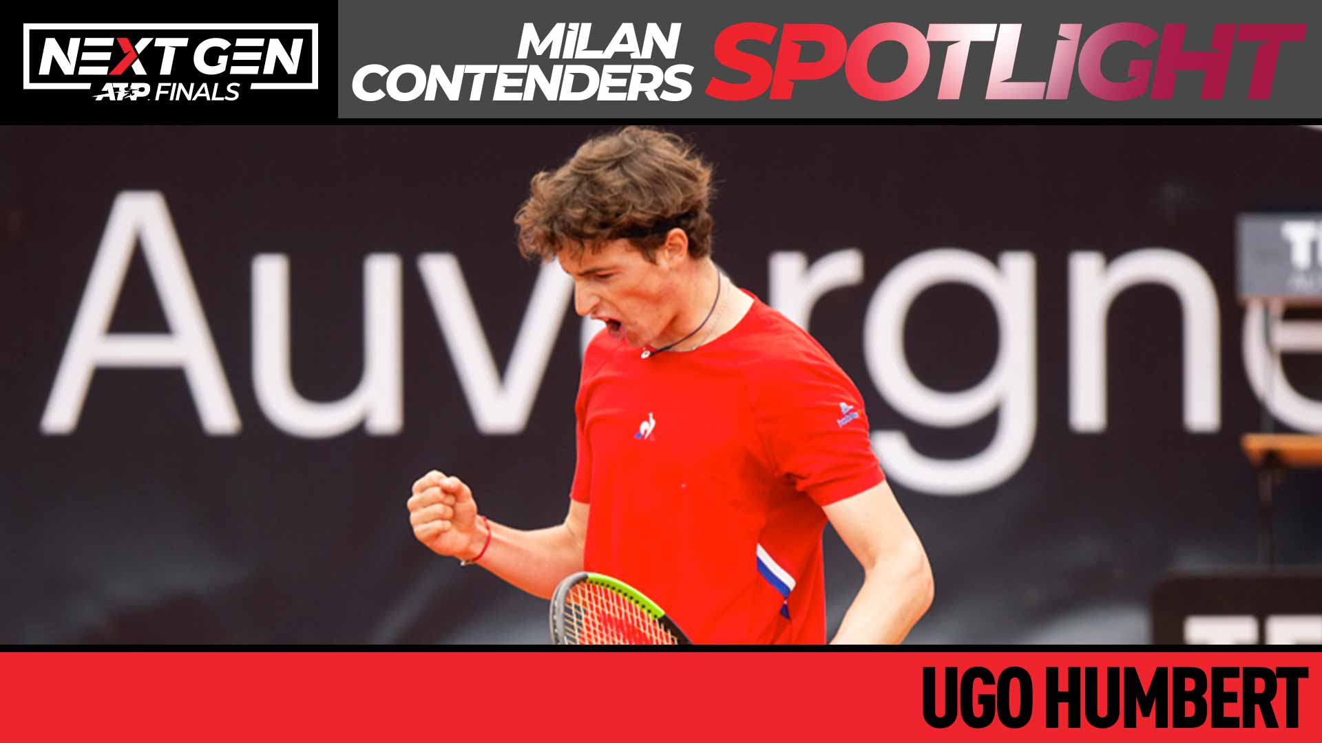 #NextGenATP Ugo Humbert, With Eyes On Milan, Returns To Winning Ways In Lyon | ATP Tour | Tennis