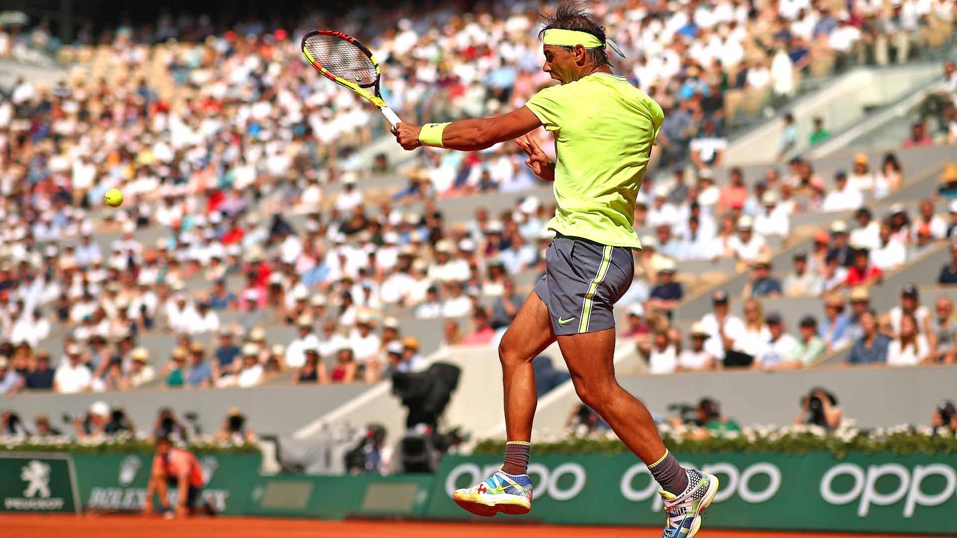 Rafael Nadal Cruises Into 13th Roland Garros Quarter Final Atp Tour Tennis