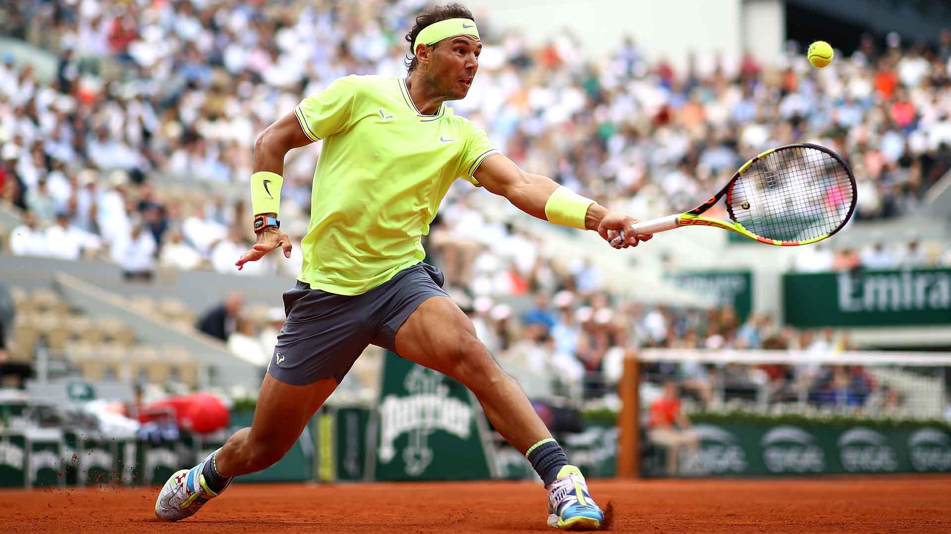 Nadal Beats Nishikori To Reach Roland Garros Sf French Open 2019 Atp Tour Tennis