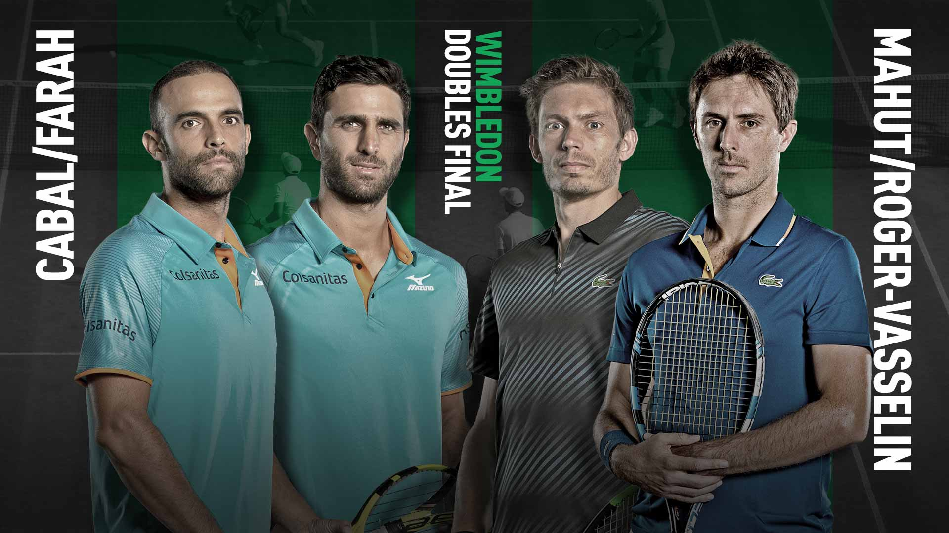 Preview: Cabal/Farah Face Mahut/Roger-Vasselin In Wimbledon