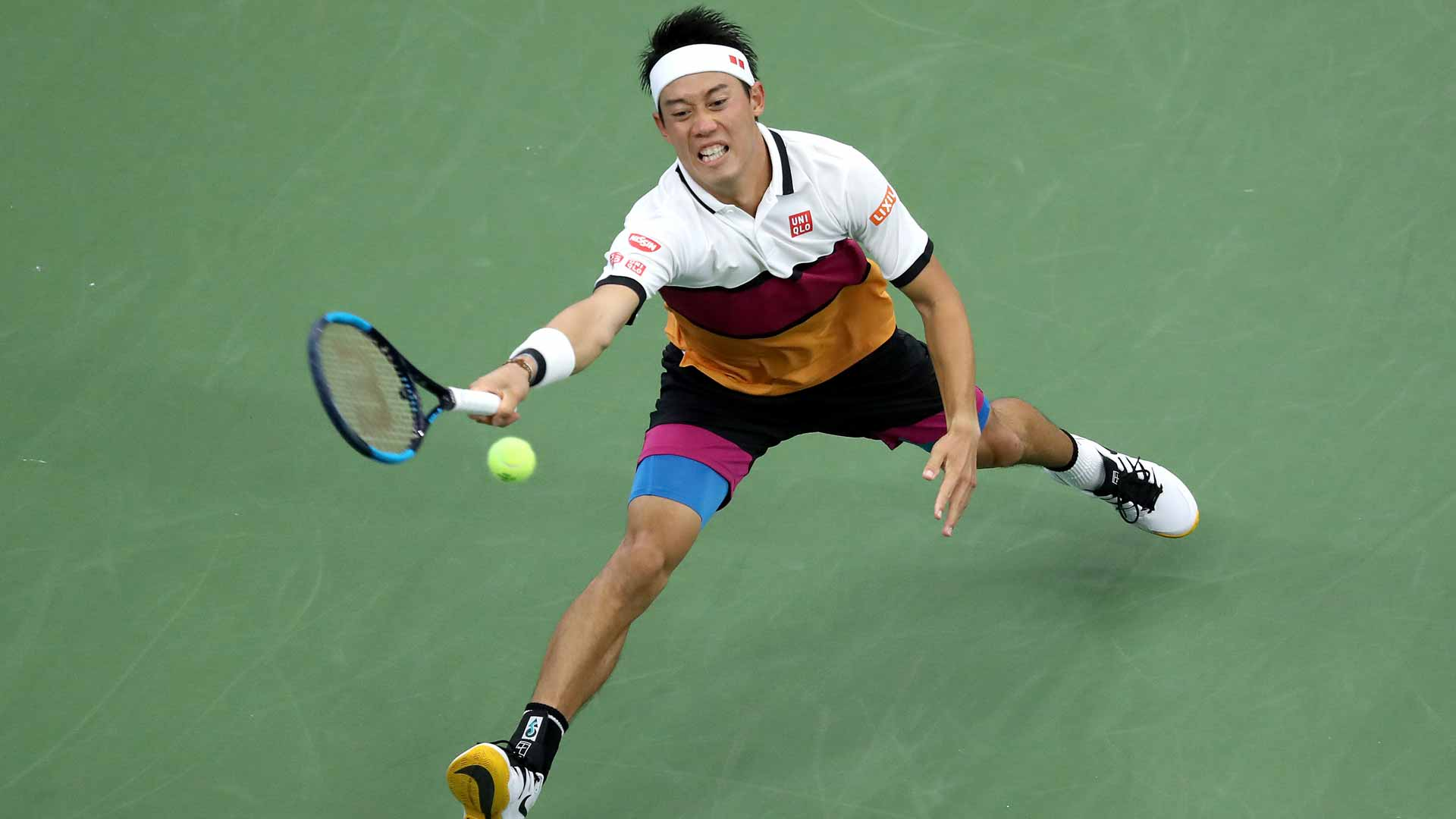 Nishikori Overcomes Hiccup To Reach US Open Third Round | ATP Tour