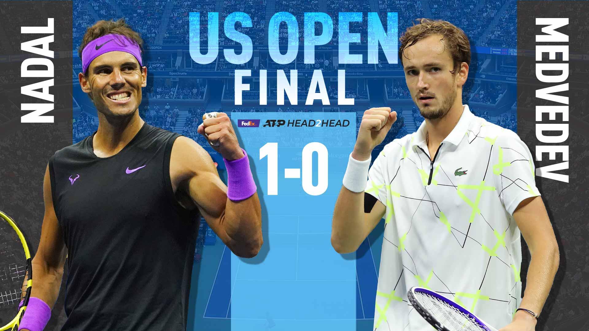 Summer's Standouts Rafael Nadal & Daniil Medvedev Aptly Meet In US Open  Final | ATP Tour