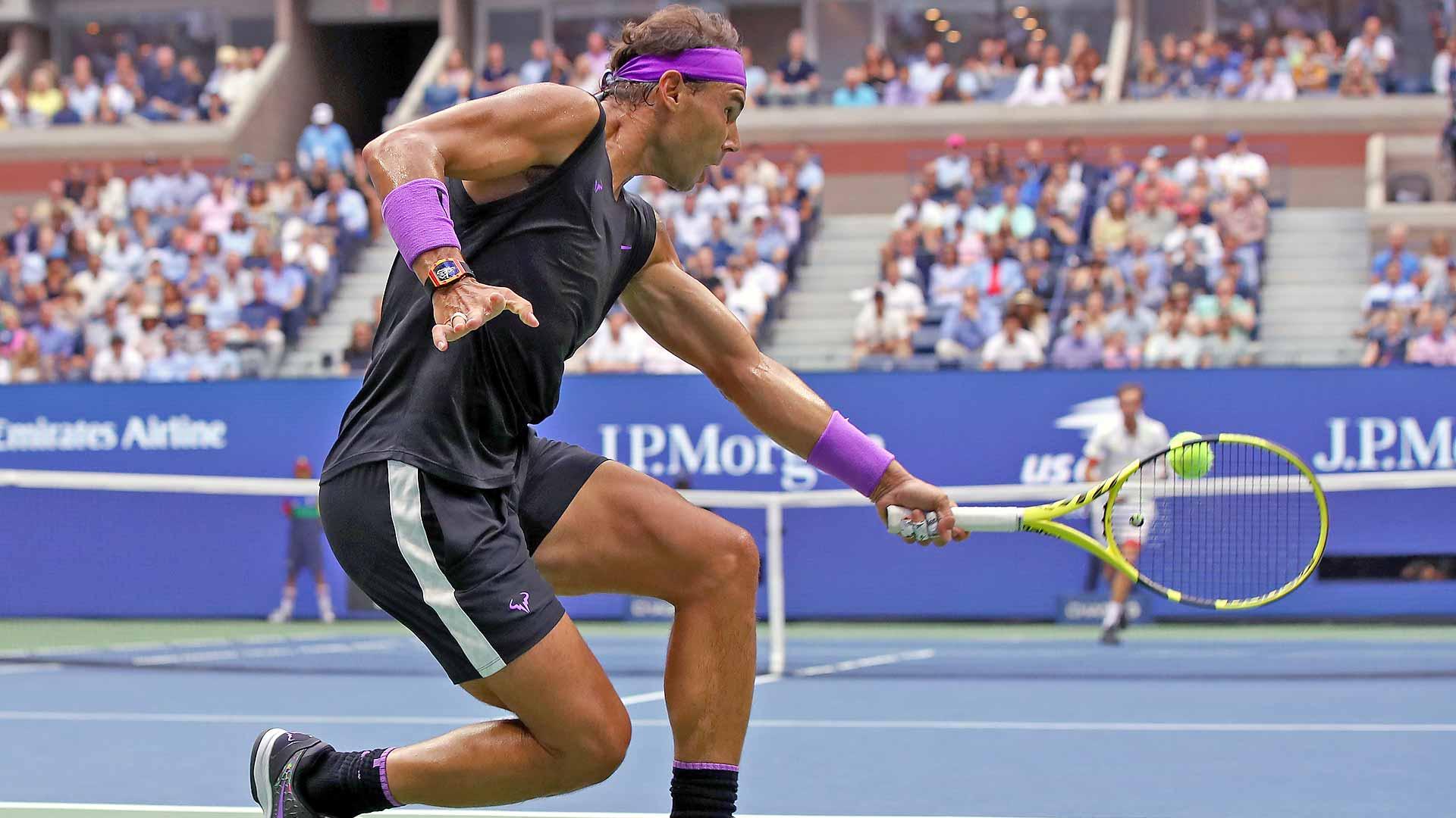 How Rafael Nadal Beat Daniil Medvedev In The Us Open Final Atp Tour Tennis