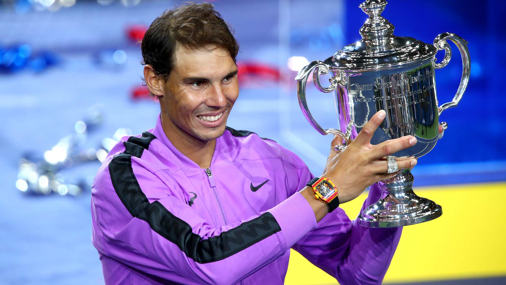 Rafael Nadal This Trophy Means Everything To Me Atp Tour Tennis
