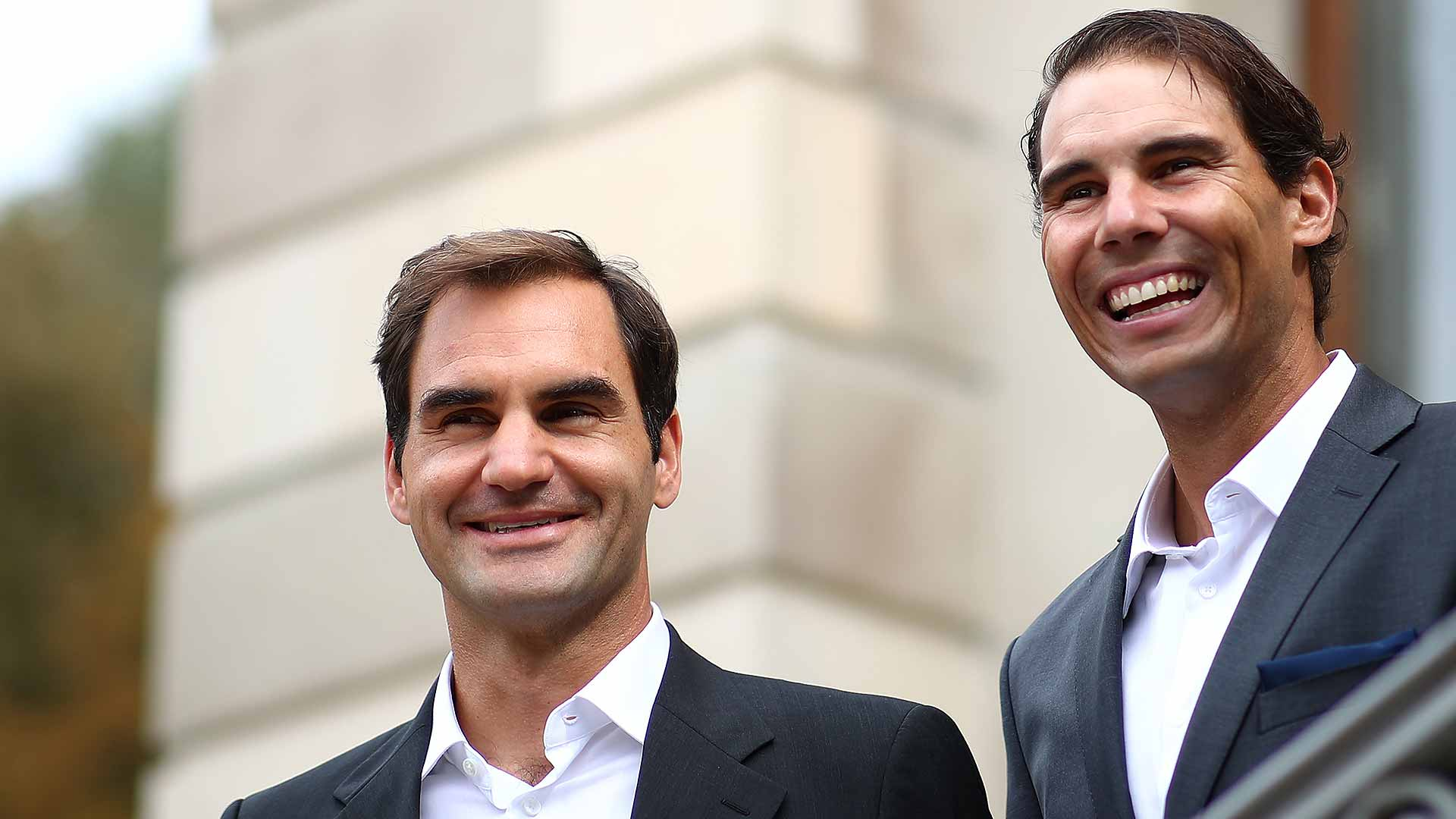 2019 Laver Cup Roger Federer Rafael Nadal Ready To Get Started In Geneva Atp Tour Tennis