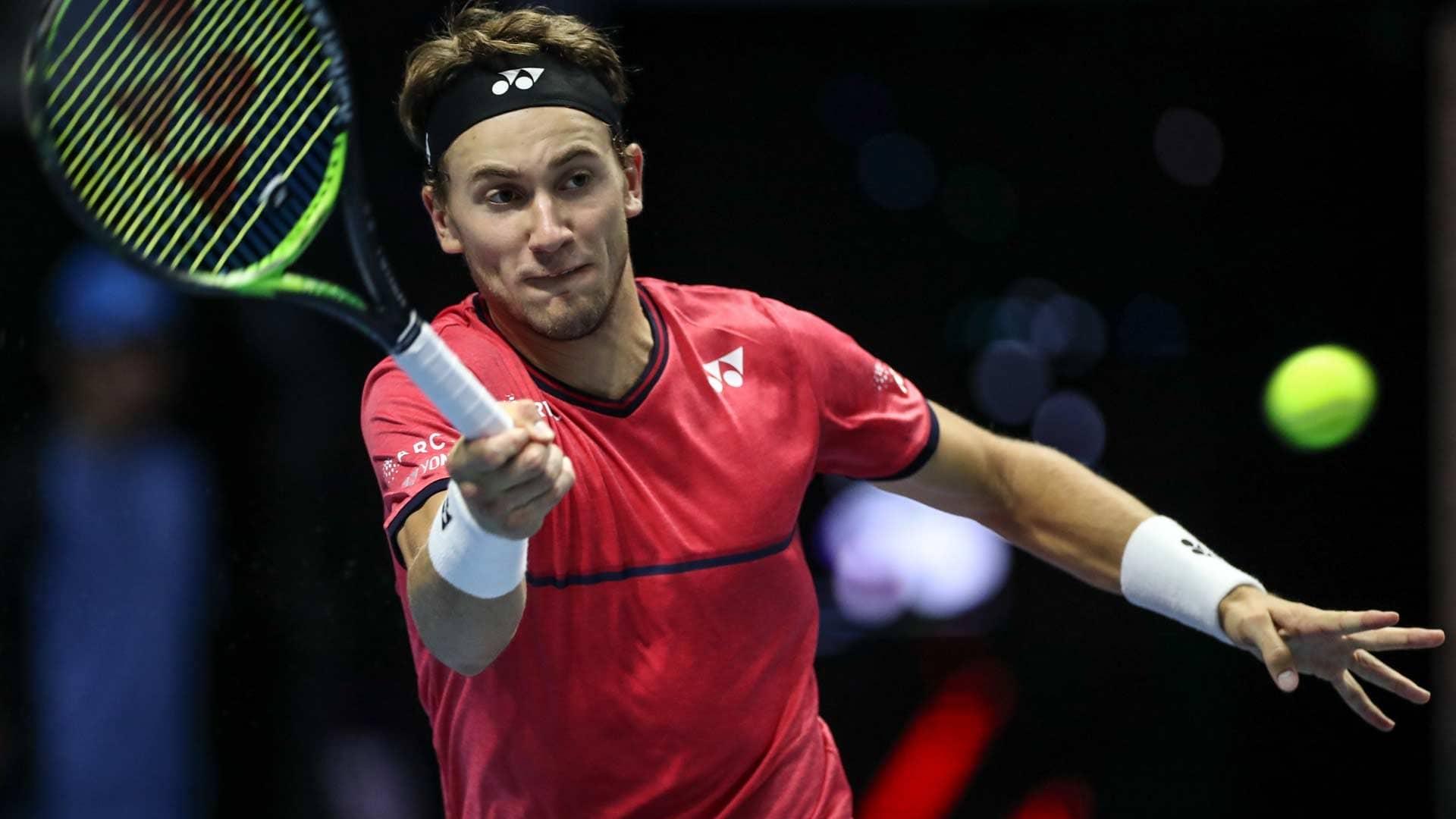 Casper Ruud Defeats Alexander Bublik In St Petersburg Atp Tour Tennis