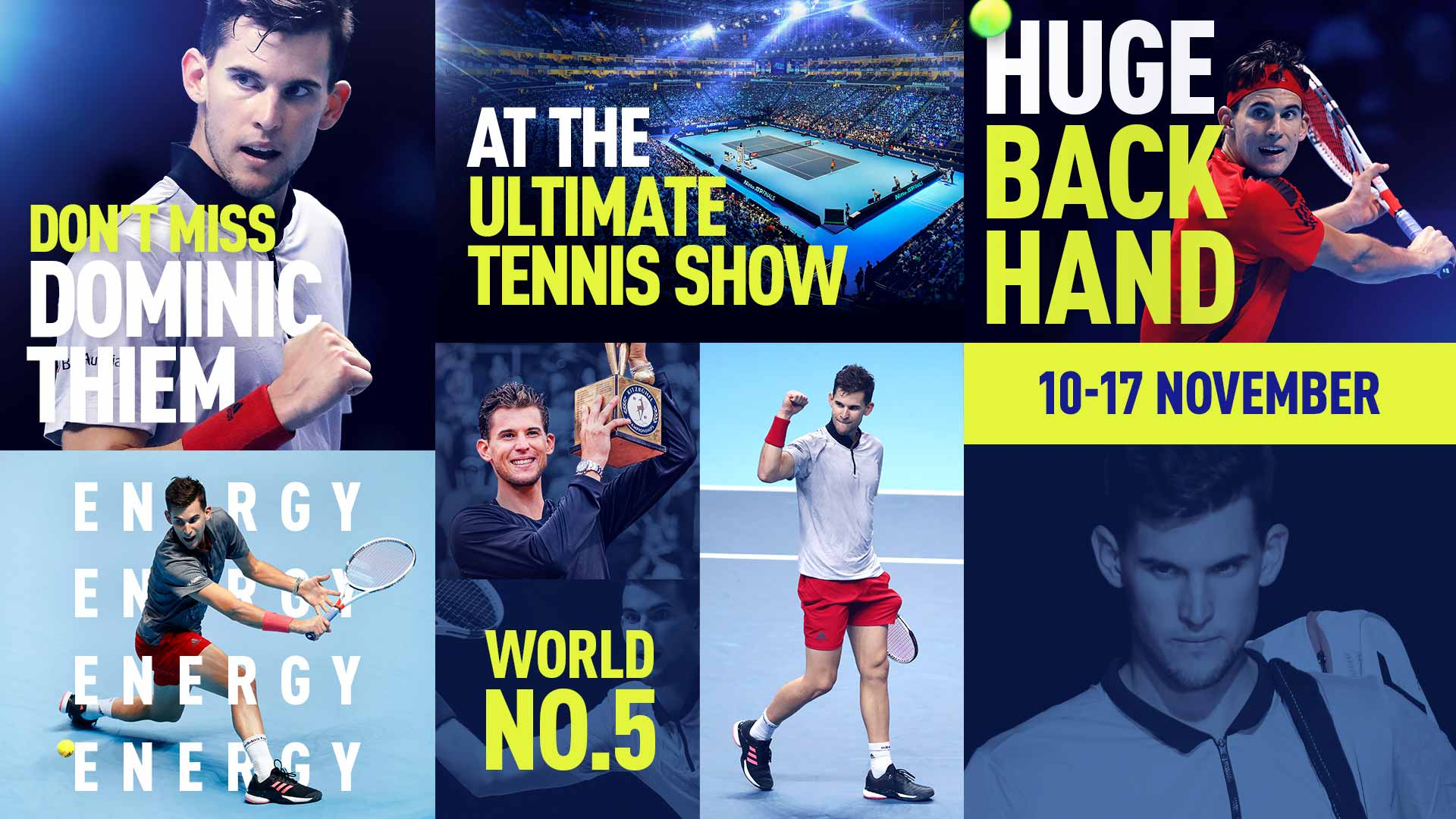 Thiem Becomes Fifth Player To Qualify For Nitto Atp Finals Atp Tour Tennis