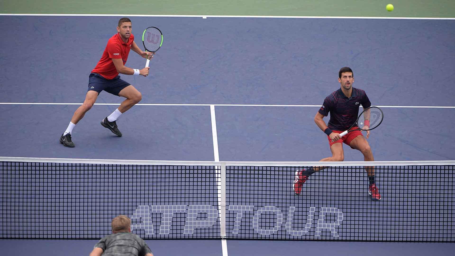 Krajinovic Djokovic Stop Nitto Atp Finals Hopes In Shanghai Atp Tour Tennis