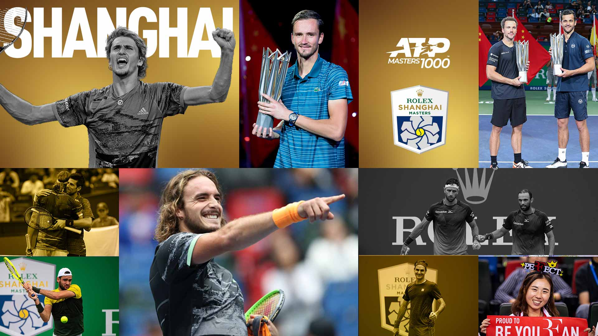 A Look Back At The 2019 Rolex Shanghai Masters | ATP Tour