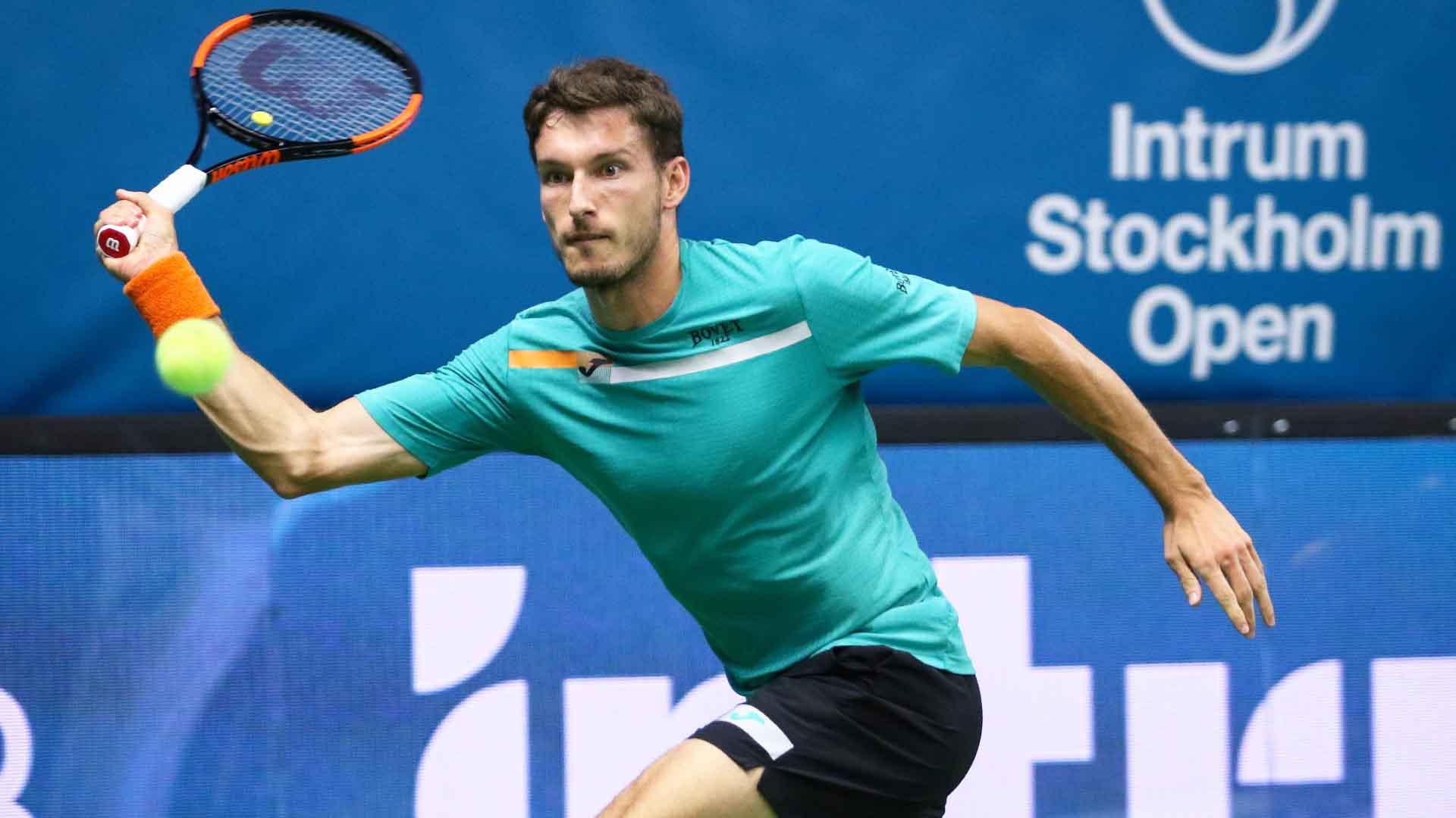 Pablo Carreno Busta Downs John Millman On Stockholm Return | ATP Tour