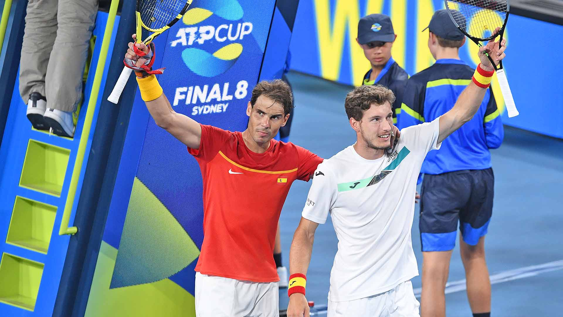 Rafael Nadal/Pablo Carreno Busta Win In Doubles, Push Spain To ATP Cup SF    ATP Tour