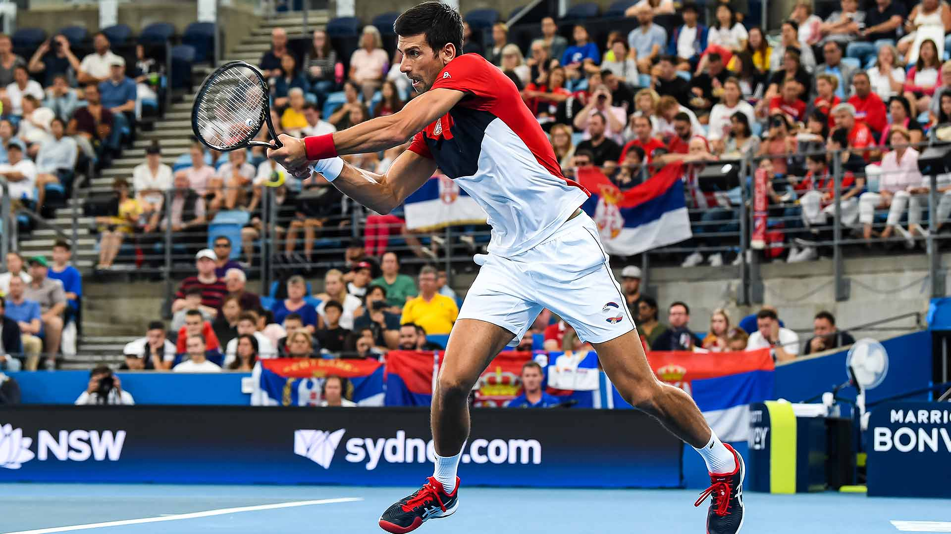 Novak Djokovic Beats Daniil Medvedev Of Russia To Push Serbia Into Atp Cup Final Atp Tour Tennis