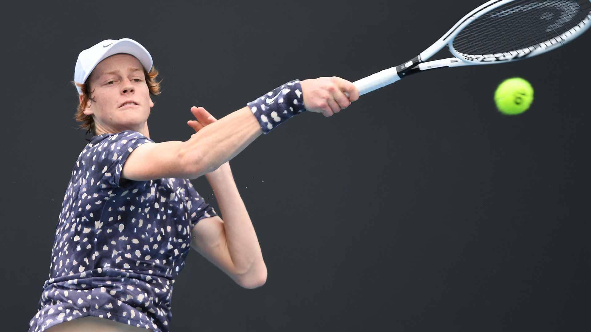 Australian Open Results Jannik Sinner Shining Denis