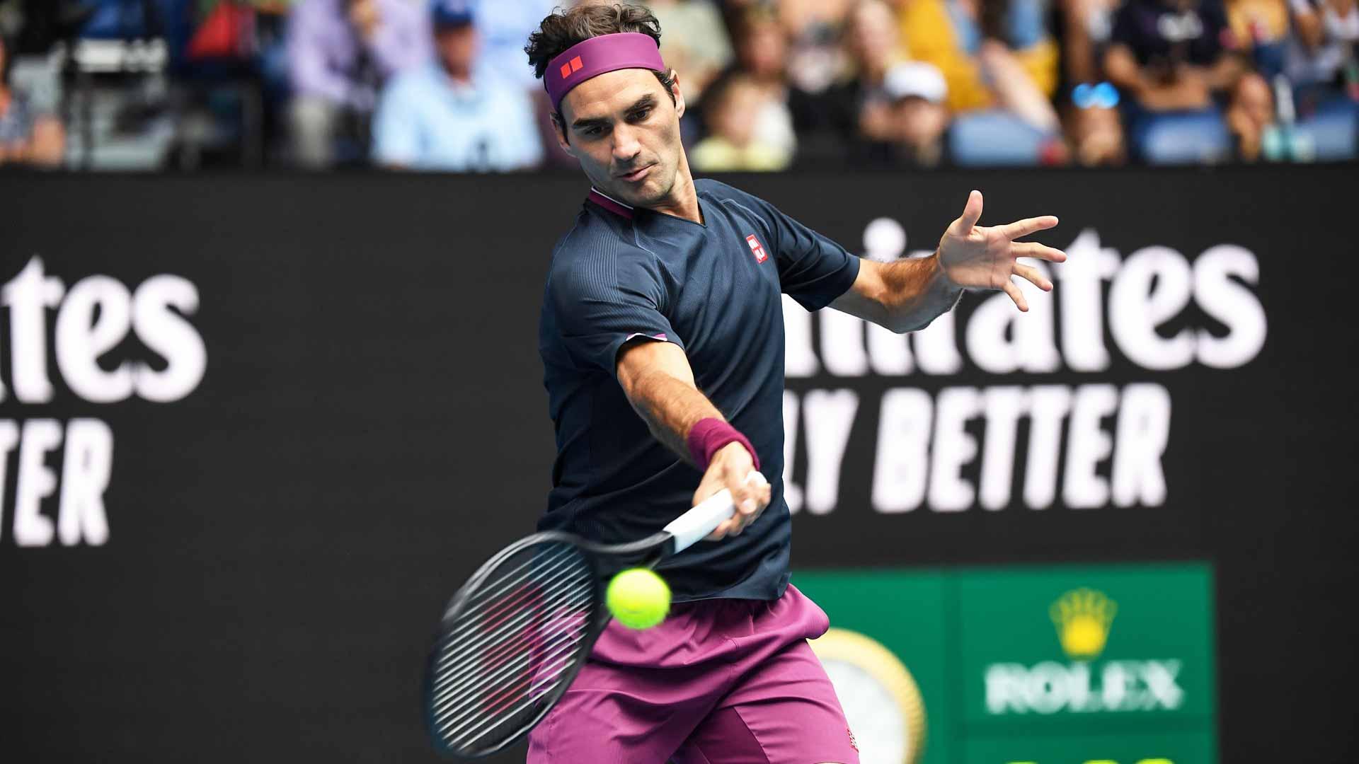 Roger Federer Beats Steve Johnson At Australian Open Atp