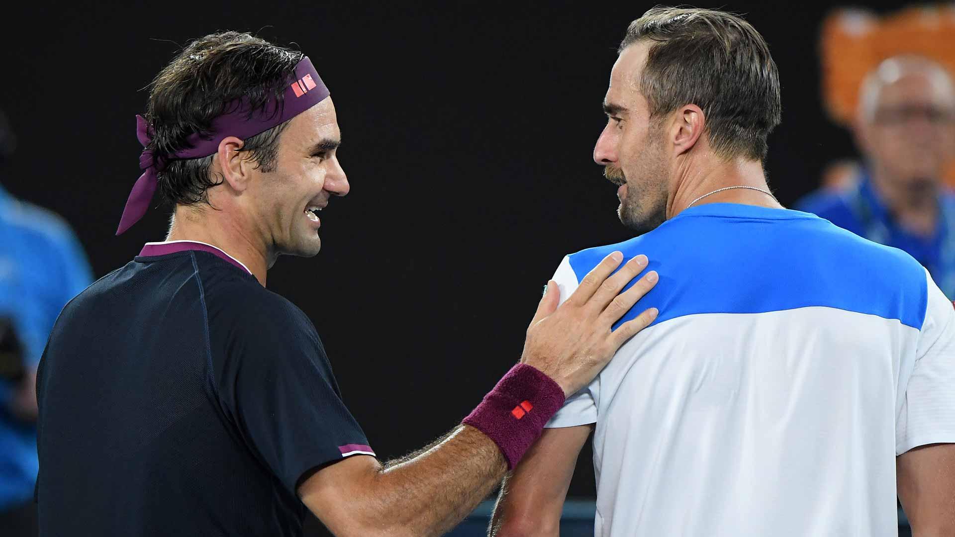 Australian Open Steve Johnson On Roger Federer He Kind
