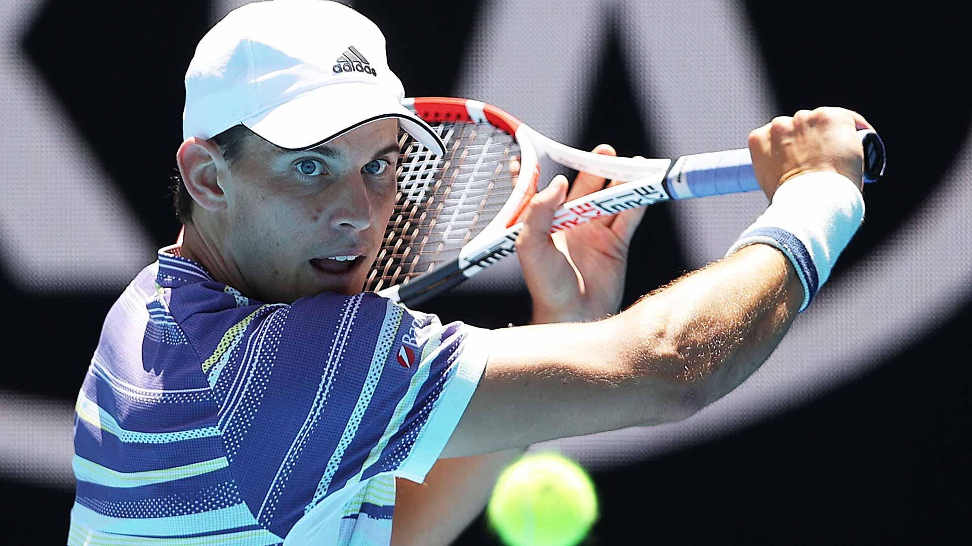 Dominic Thiem Beats Adrian Mannarino At Australian Open