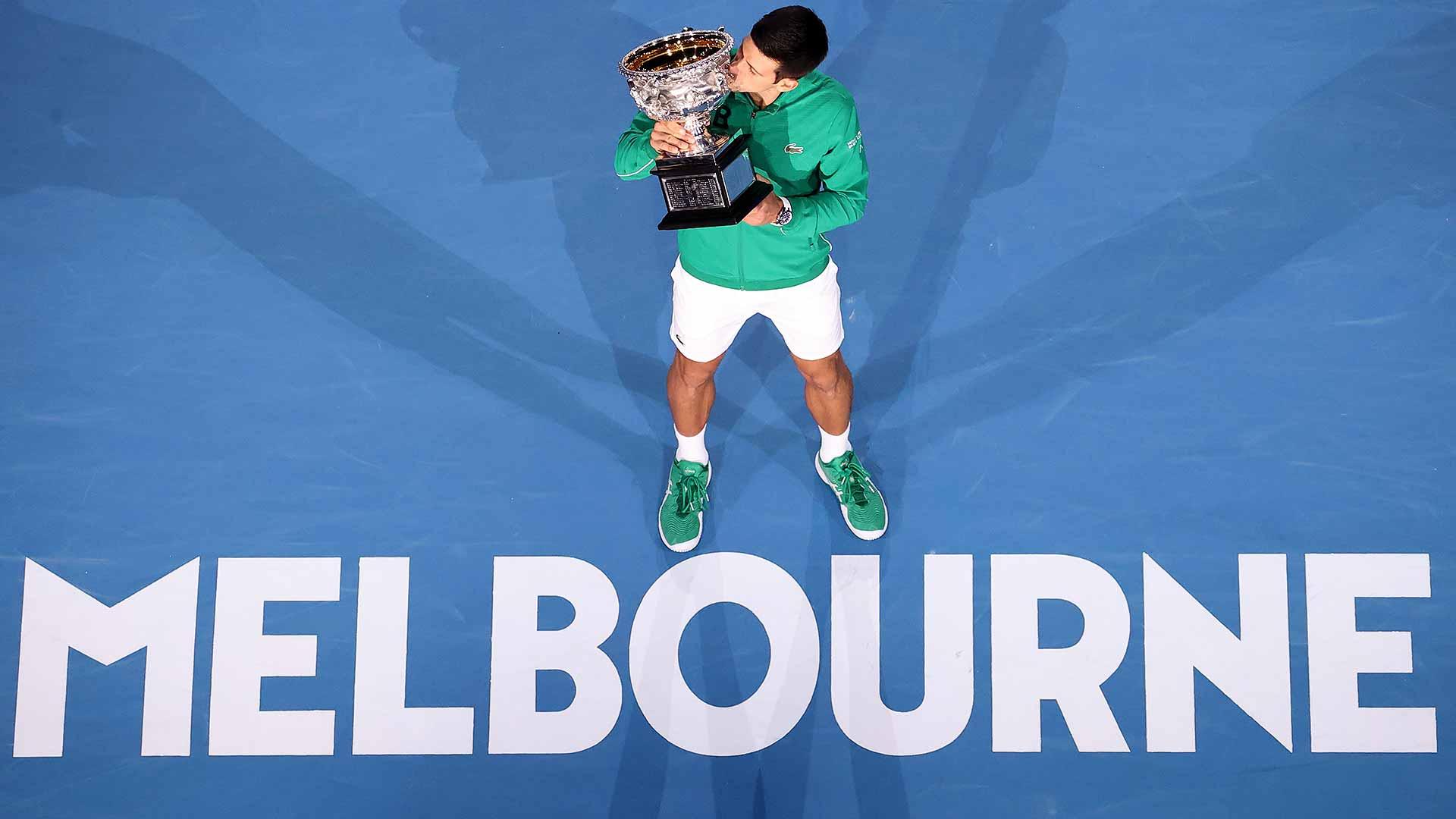 Social Media Reacts To Djokovic Winning Eighth Australian Open Title Atp Tour Tennis