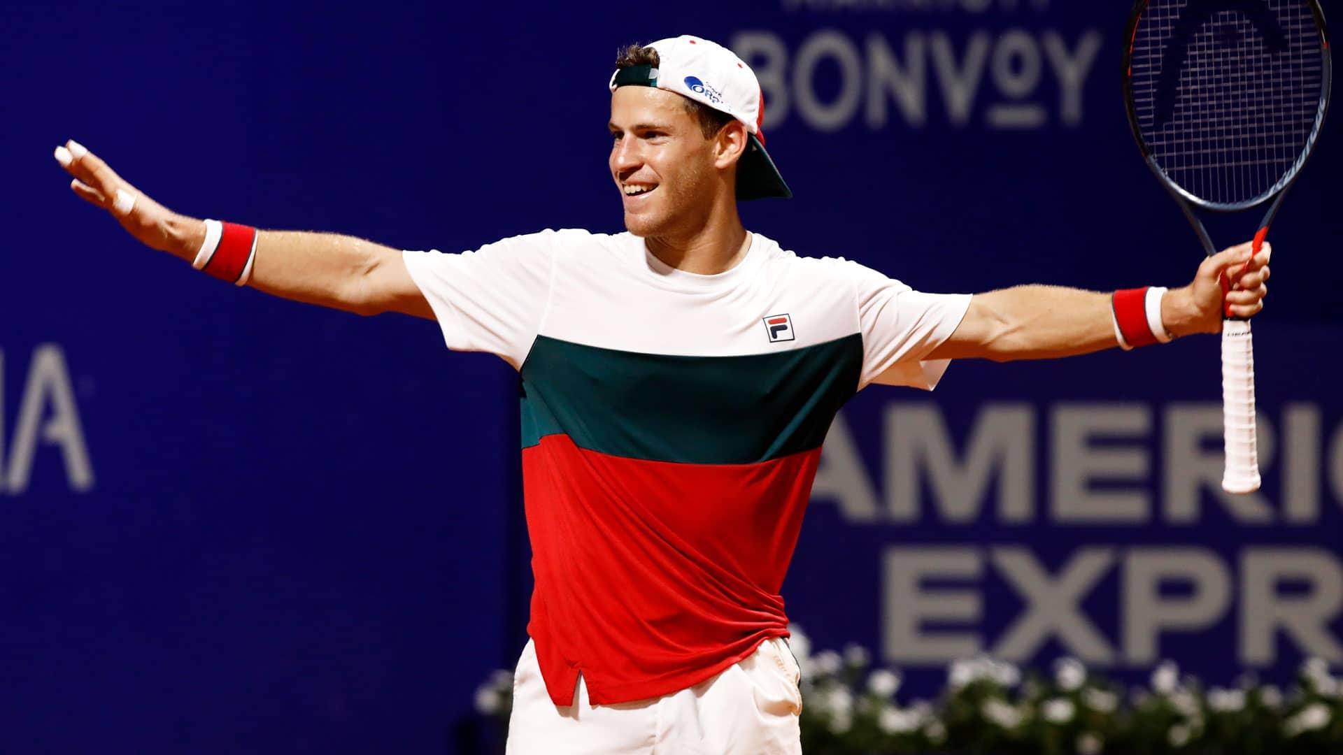 Diego Schwartzman Saves 4 Match Points Beats Pablo Cuevas In Buenos Aires Atp Tour Tennis