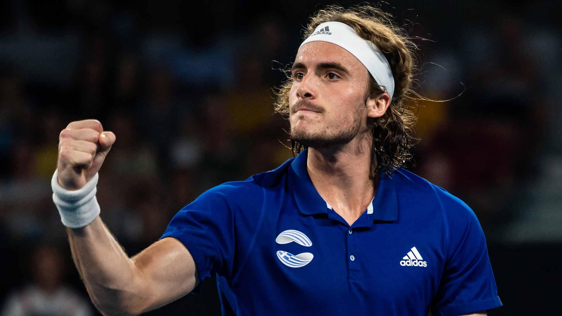 Stefanos Tsitsipas Giving Back Through Charity Auction Atp Tour Tennis