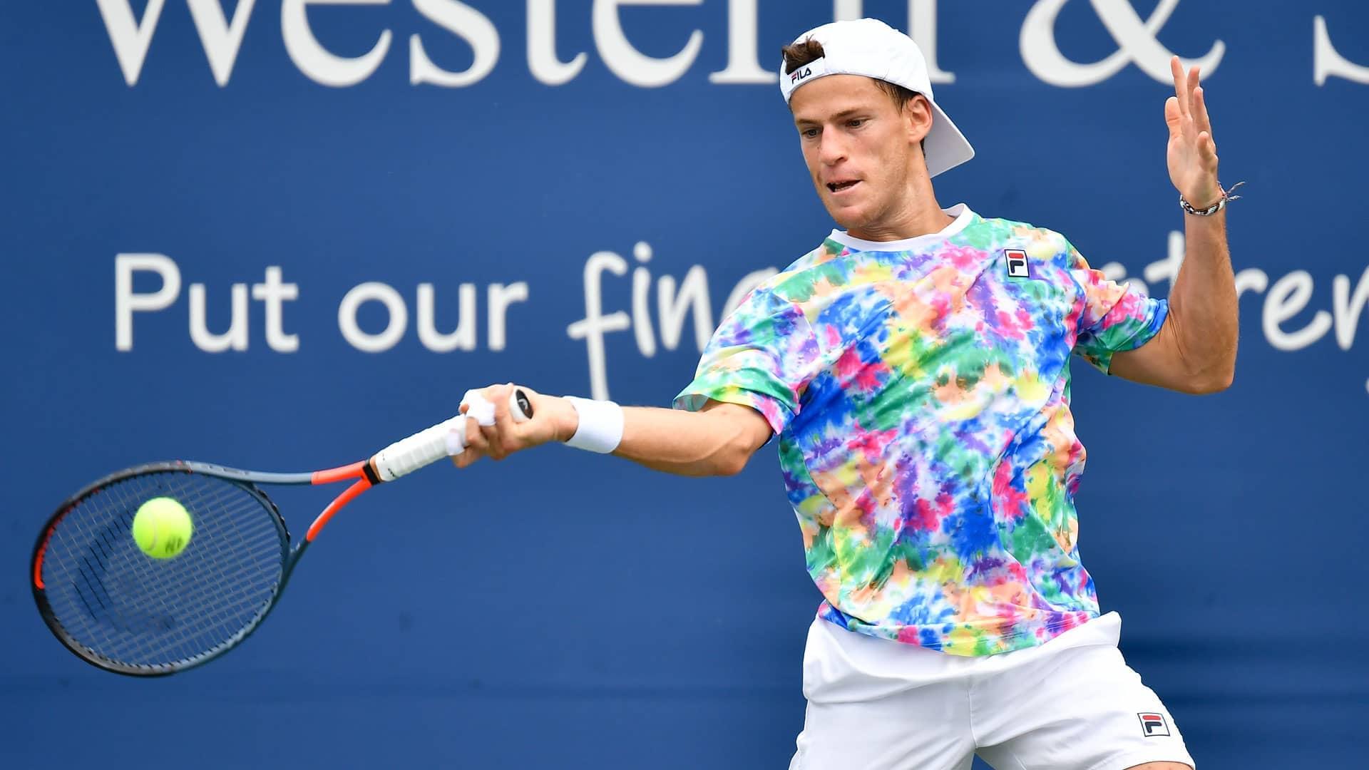 Diego Schwartzman S Statement Dressed To Dazzle Atp Tour Tennis
