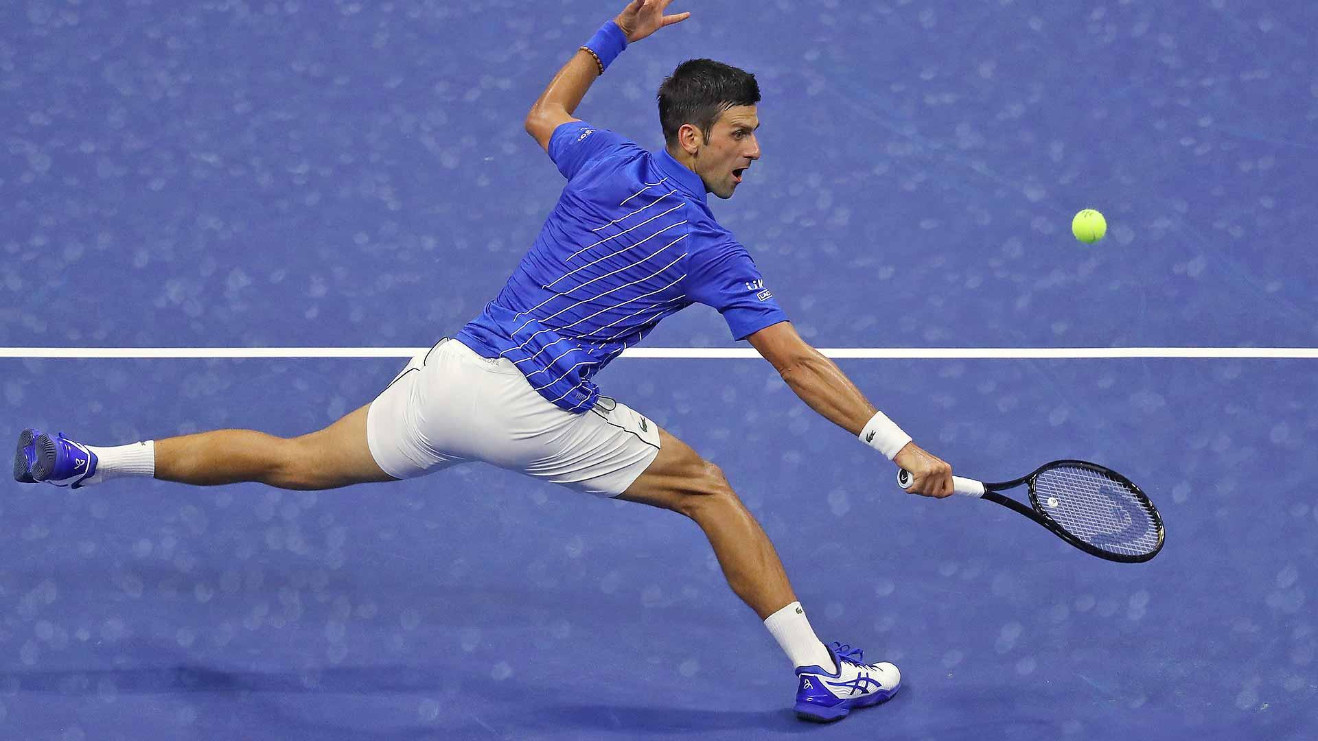 Us Open 2020 Novak Djokovic Sails Past Damir Dzumhur Atp Tour Tennis
