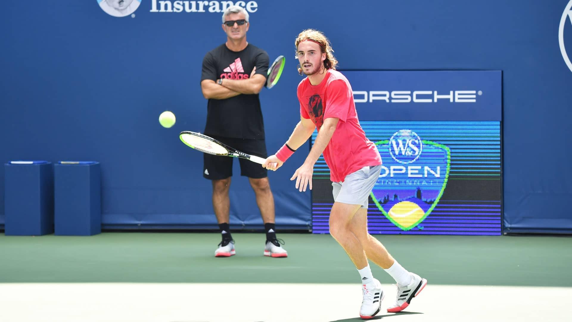 Apostolos Tsitsipas Embracing His Life Teacher Role For Stefanos Atp Tour Tennis