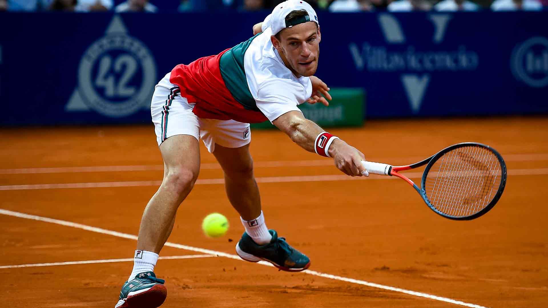 Diego Schwartzman I Am In The Best Shape Atp Tour Tennis