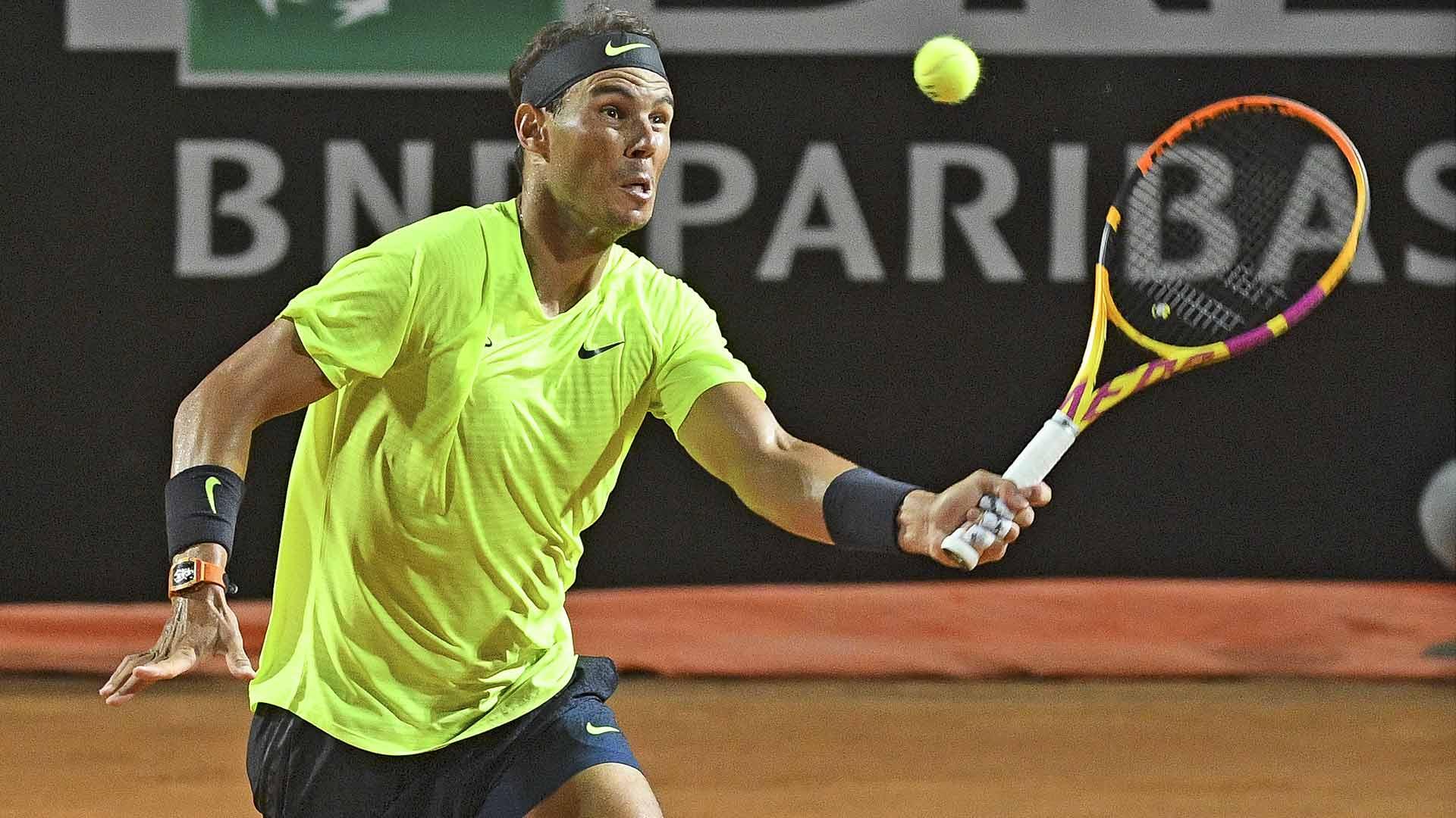 Preview Rafael Nadal Joins Four Italians In Bid For Rome Quarter Final Berths Atp Tour Tennis