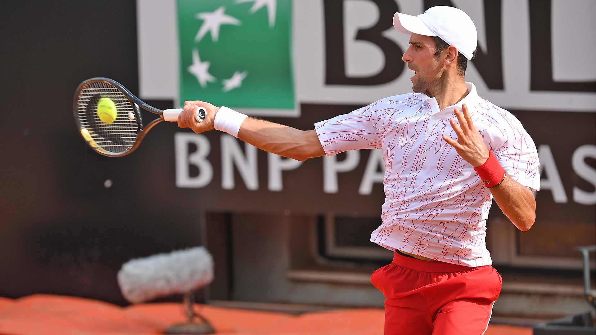 Novak Djokovic Ends Koepfer S Run In Rome Atp Tour Tennis
