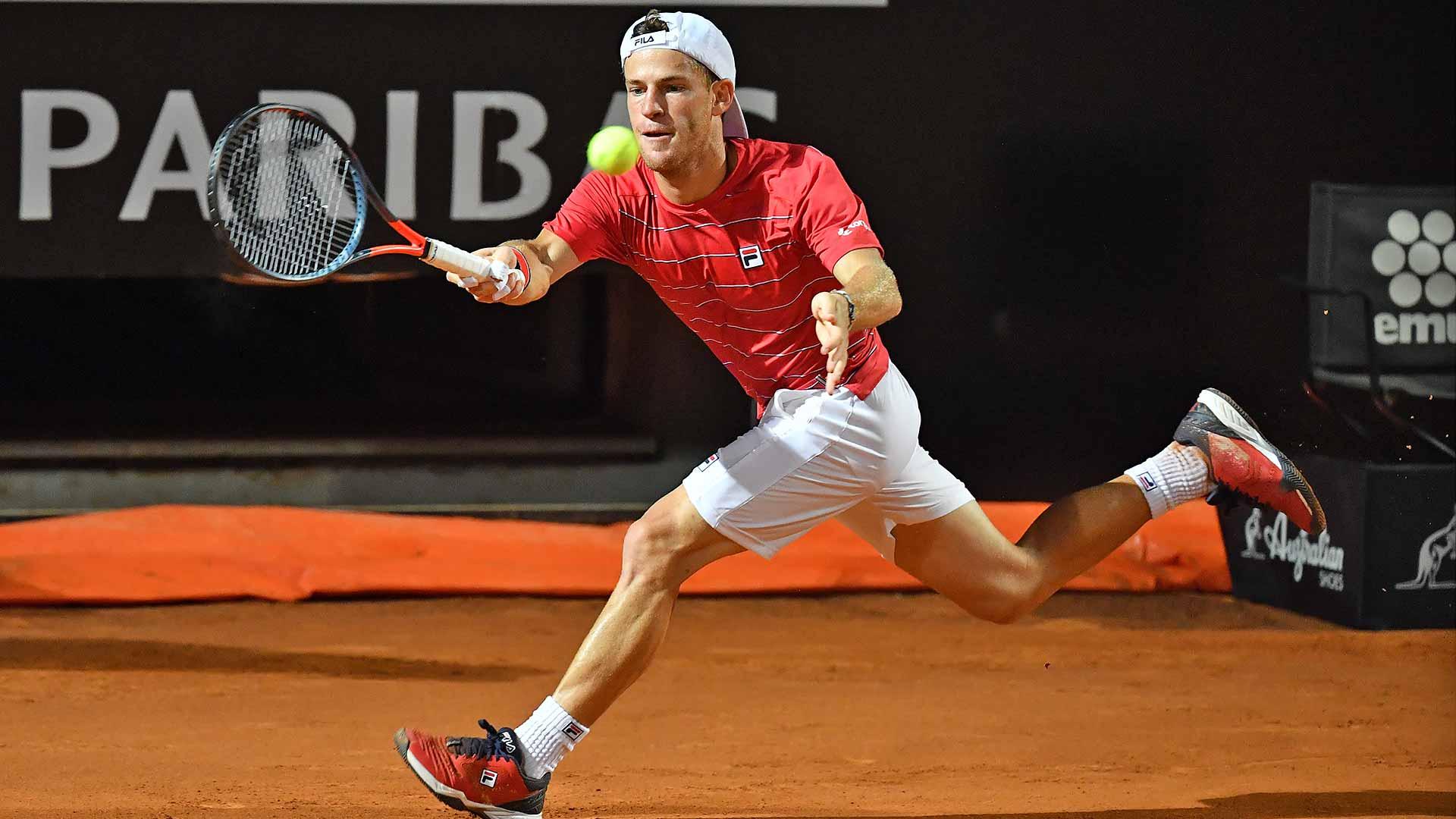 Diego Schwartzman Shines Against Denis Shapovalov In Rome Reaches Maiden Masters 1000 Final Atp Tour Tennis