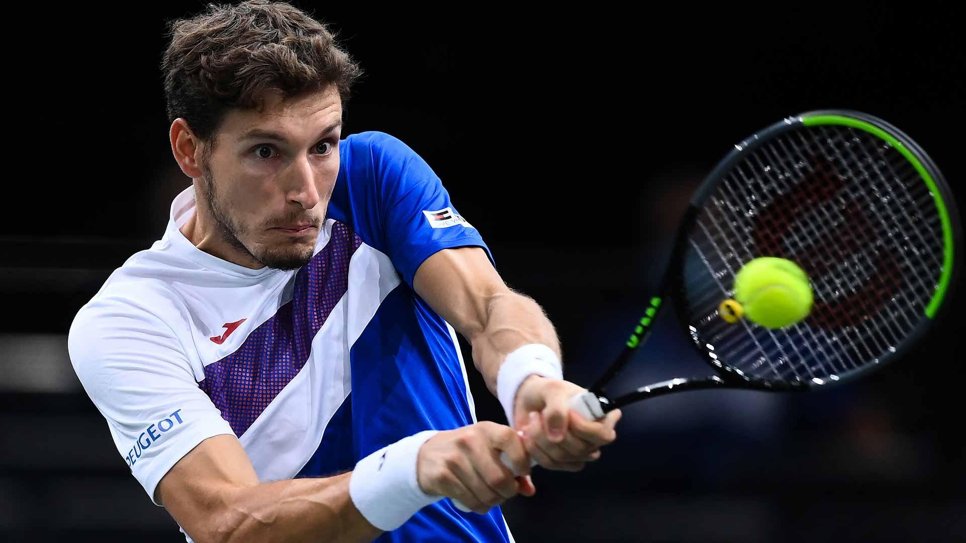 Pablo Carreno Busta Halts #NextGenATP Hugo Gaston's Dreams Of Another Big  Paris Run | ATP Tour