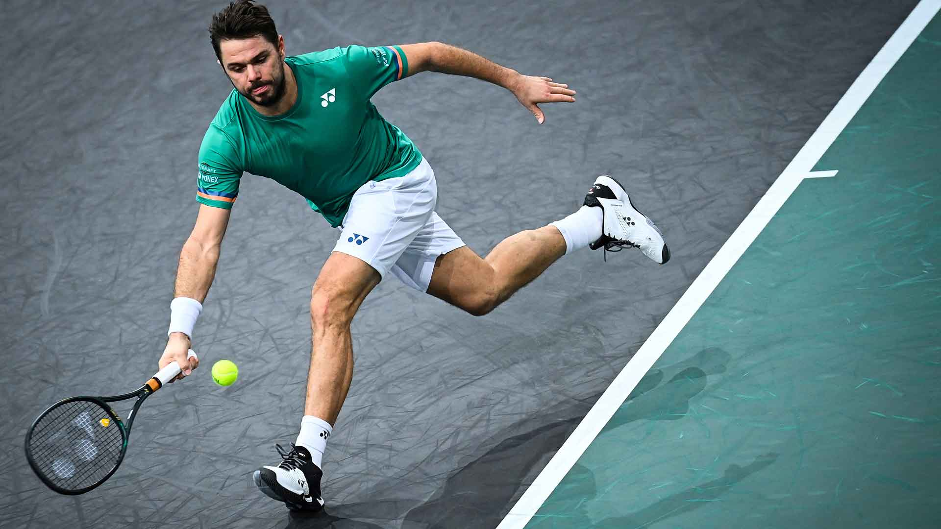 Stan Wawrinka Hits 35 Winners Against Daniel Evans To Reach Paris Second Round Atp Tour Tennis